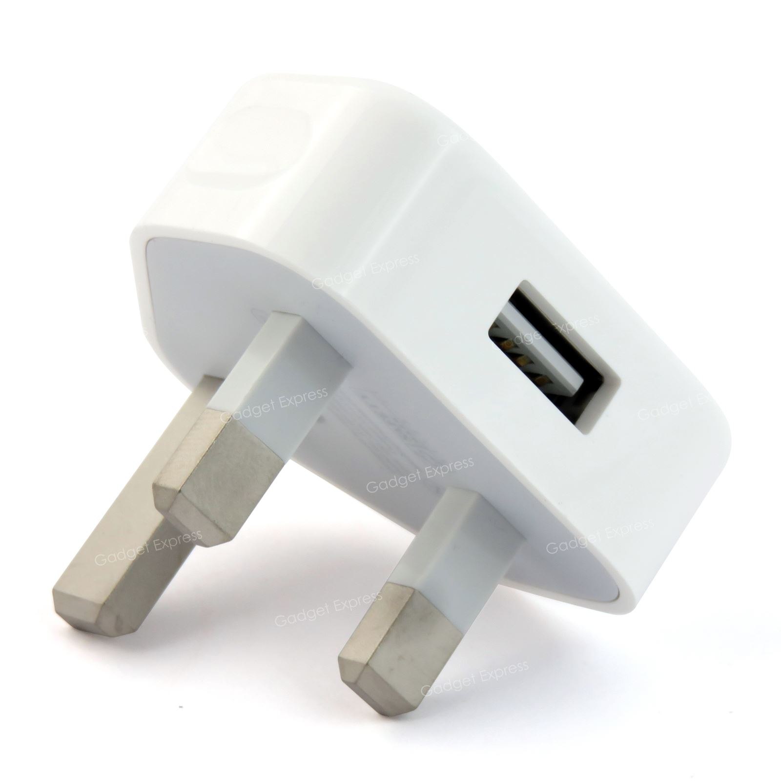 Power Adapter Apple Usb Plug Adapters On Royal Caribbean Ps4 Wheel Adapter Adapter Esata Hdmi: Genuine Apple UK Mains Plug A1399 5W USB Mains Adapter