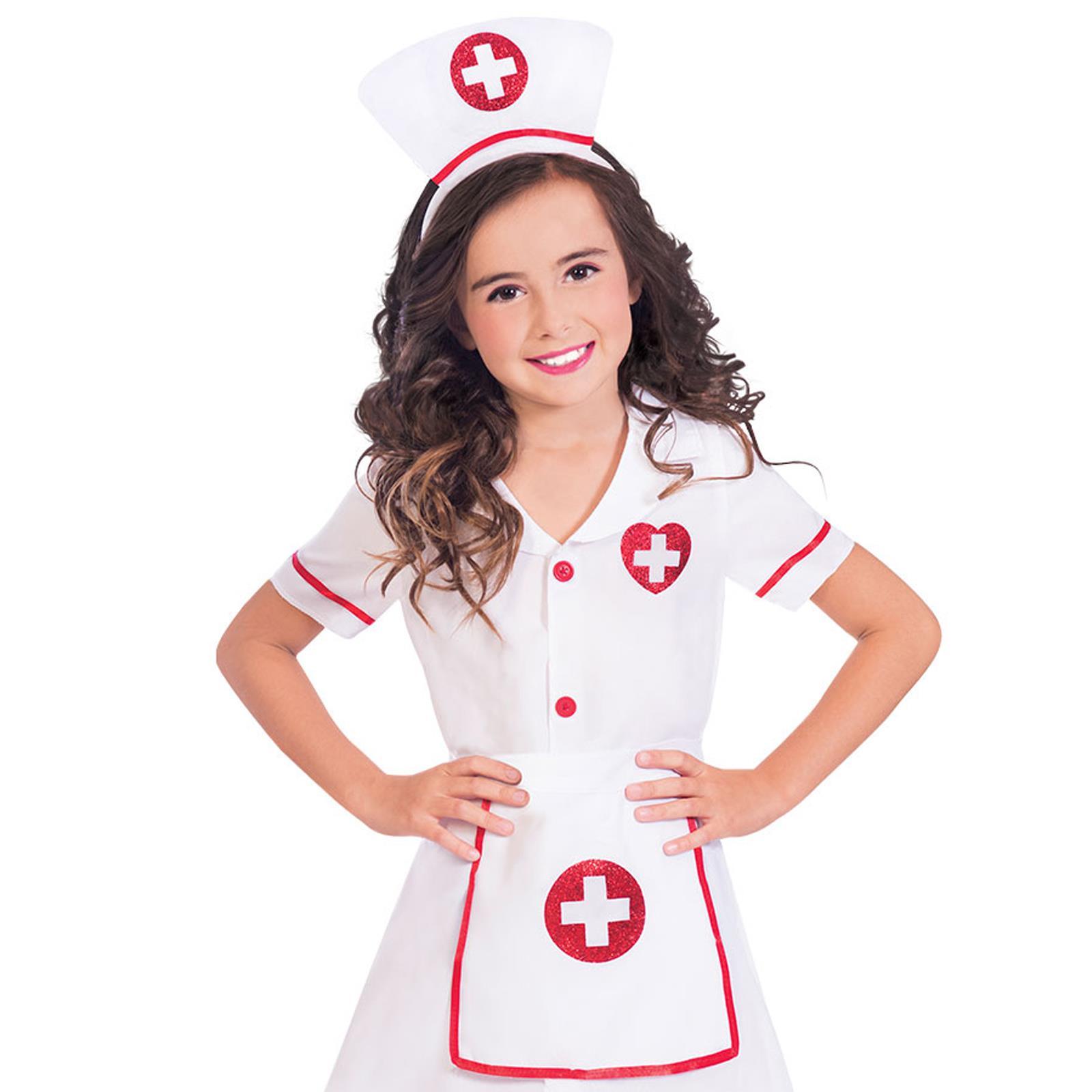 Kinder Krankenhaus Krankenschwester Medizinisch Artzt Uniform