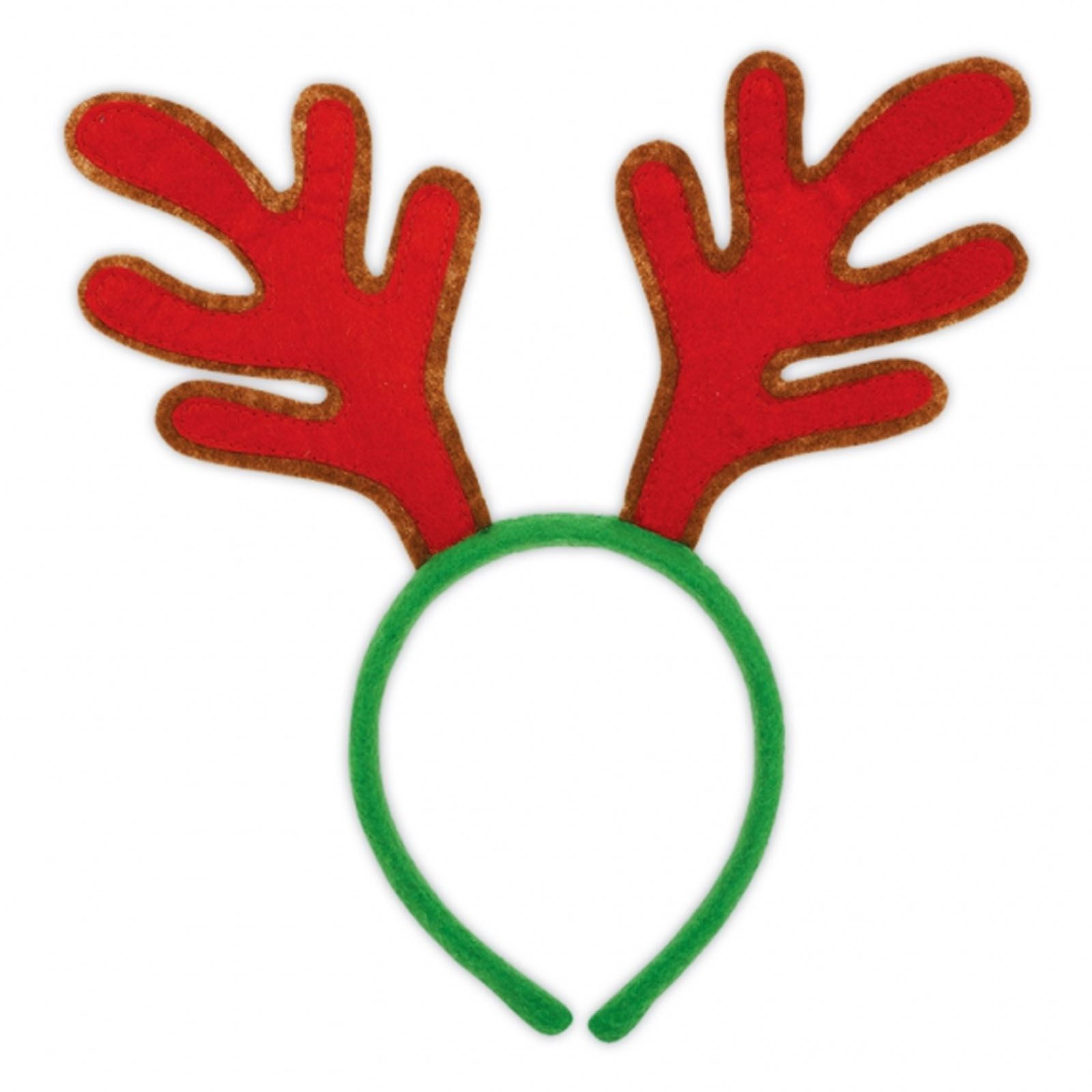 Christmas Headband Png.Details About Reindeer Rudolph Christmas Xmas Antlers Felt Antler Headband Soft Toy Kids Adult
