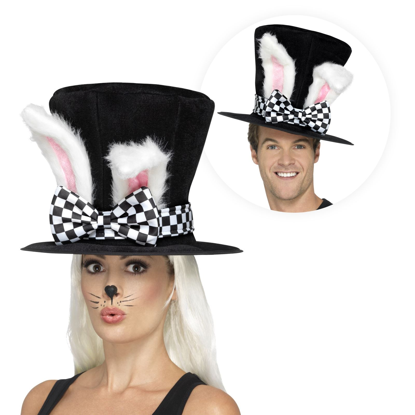 Alice in Wonderland MARCH HARE RABBIT costume all ages