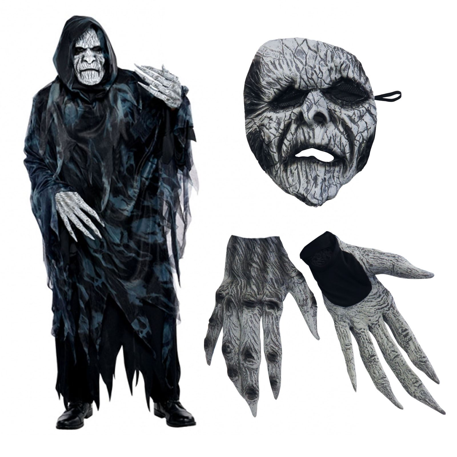 m l xl soul taker dementor costume