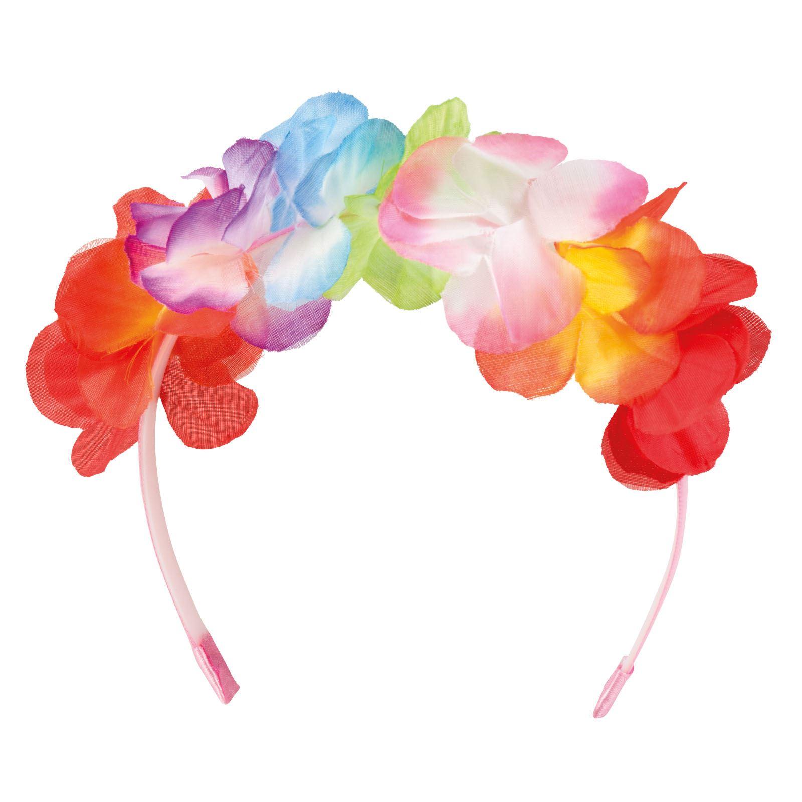 Flower Headband Luau Hawaiian Party Lei Summer Garland Tropical