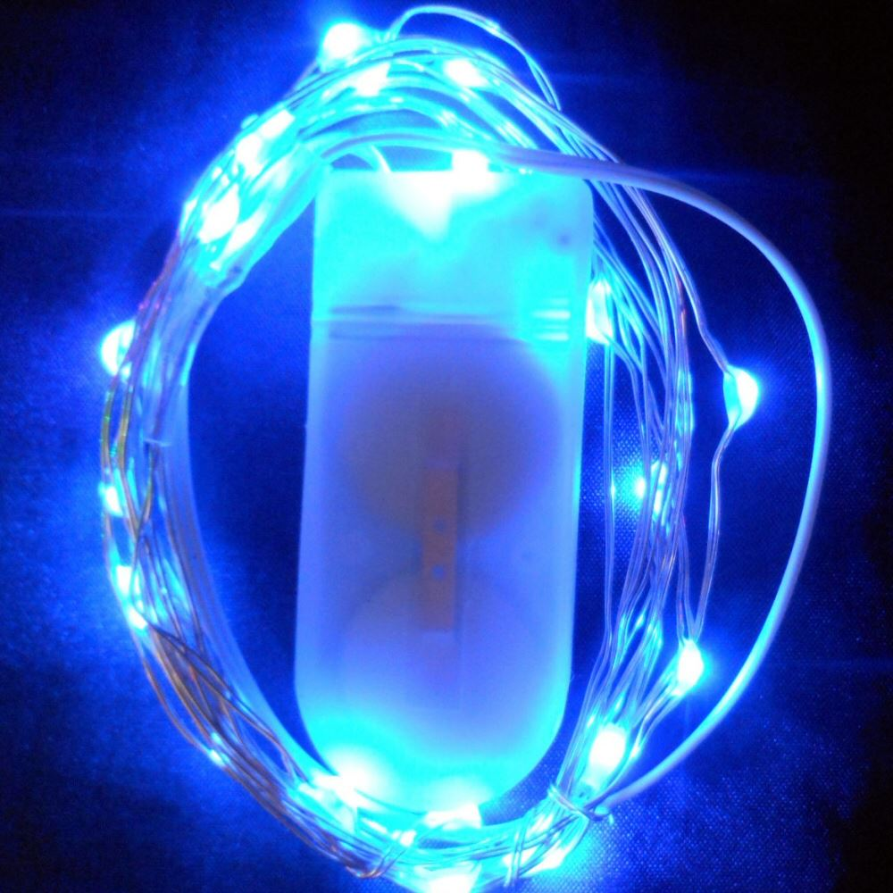 Submersible-Waterproof-Vine-Fairy-Lights-20-LED-per-String-Vase-Floral-Wedding thumbnail 5