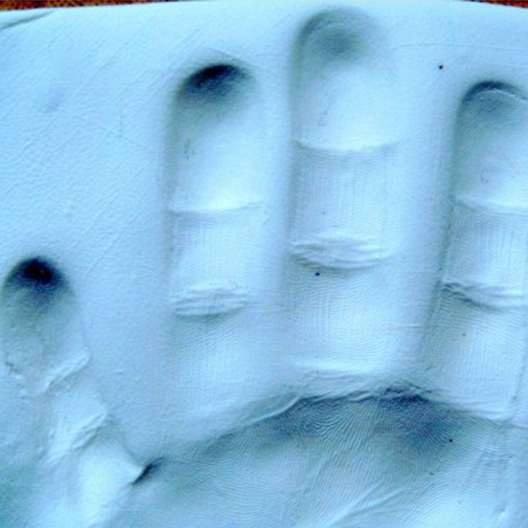 Baby Clay Handprint Footprint Imprint Kit Air Drying
