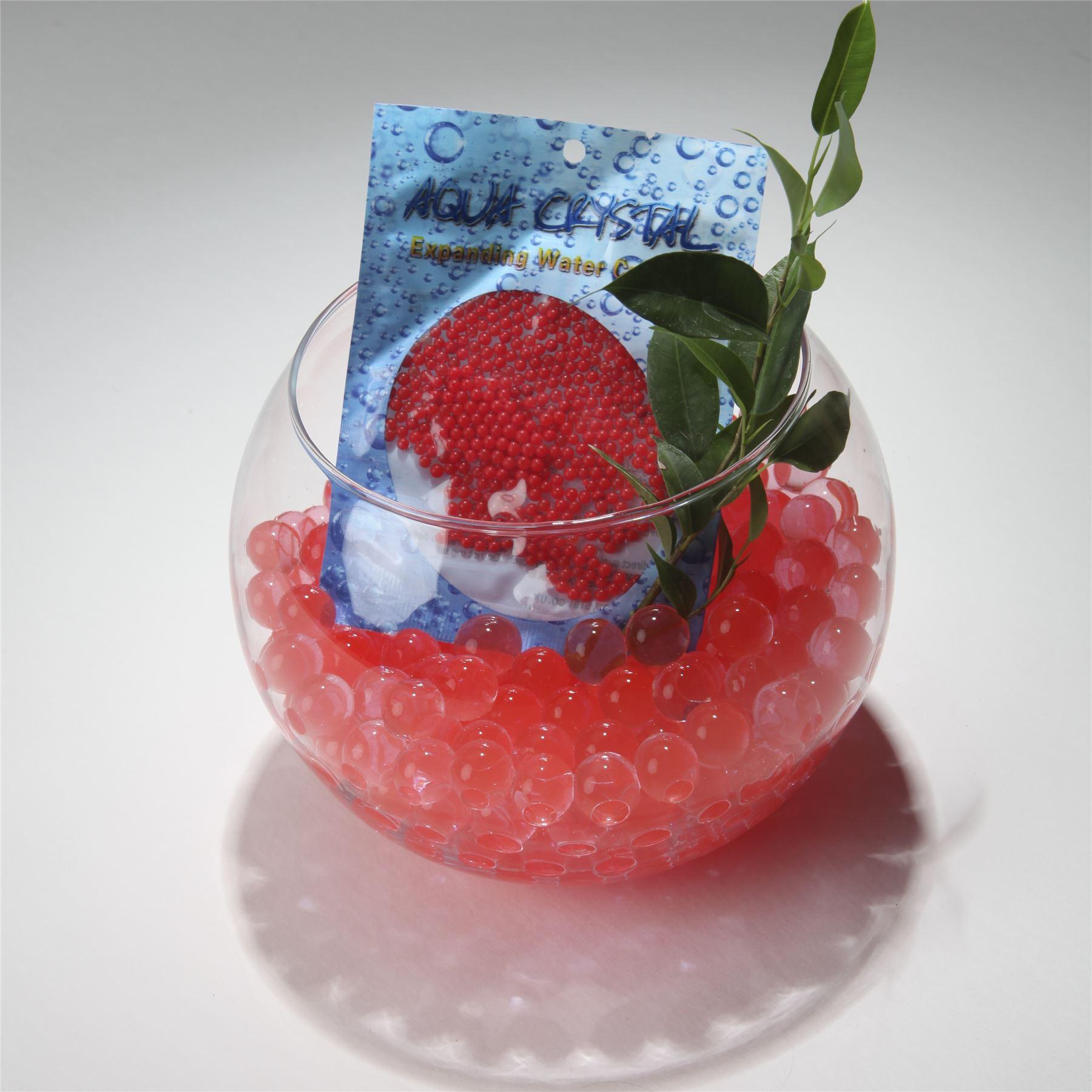 Aqua crystal expanding water beads bio gel ball florist for Diy bio balls