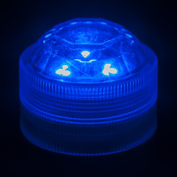 10-x-Triple-Submersible-LEDs-Very-Bright-Flamefree-Pumpkin-Christmas-Events thumbnail 5