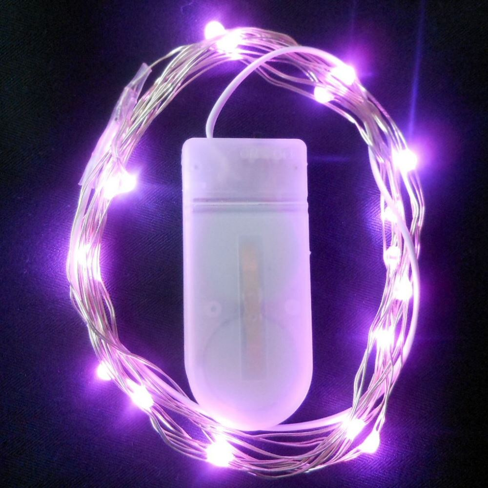 Submersible-Waterproof-Vine-Fairy-Lights-20-LED-per-String-Vase-Floral-Wedding thumbnail 9