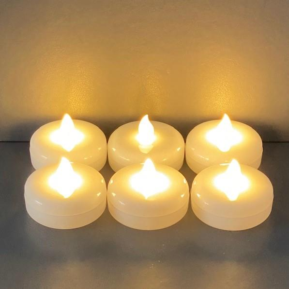 Large-LED-Flickering-Tea-Light-Christmas-Table-Display-Waterproof-Flame-Free thumbnail 5