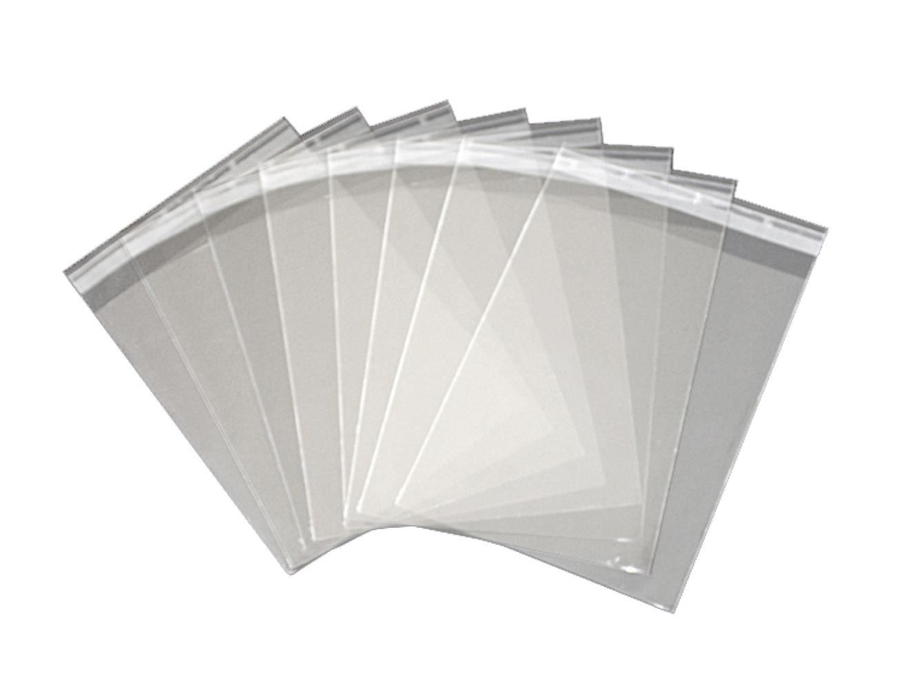 Peel-amp-Seal-Clear-Cello-Cellophane-Bags-Wallets-for-Cards-Photos-Inkless-Kits