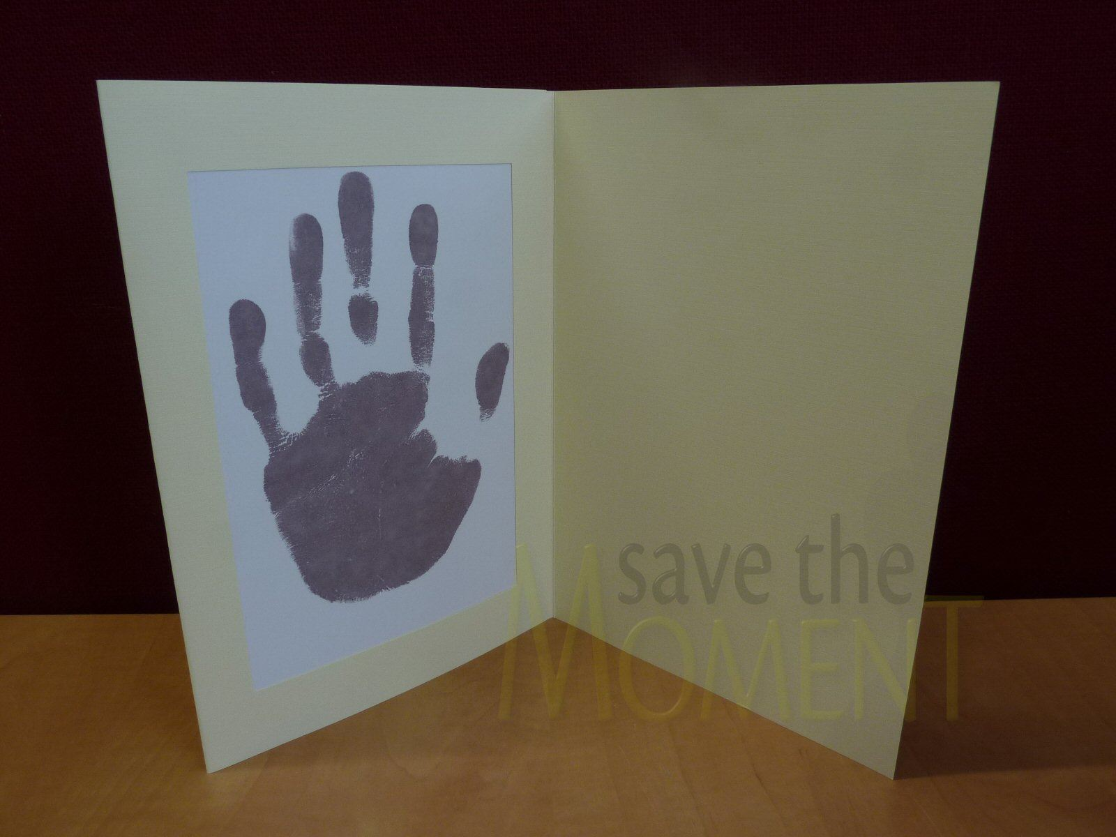 Inkless-Handprint-Footprint-Baby-Frame-Card-Kits-Child-or-Newborn-Keepsake