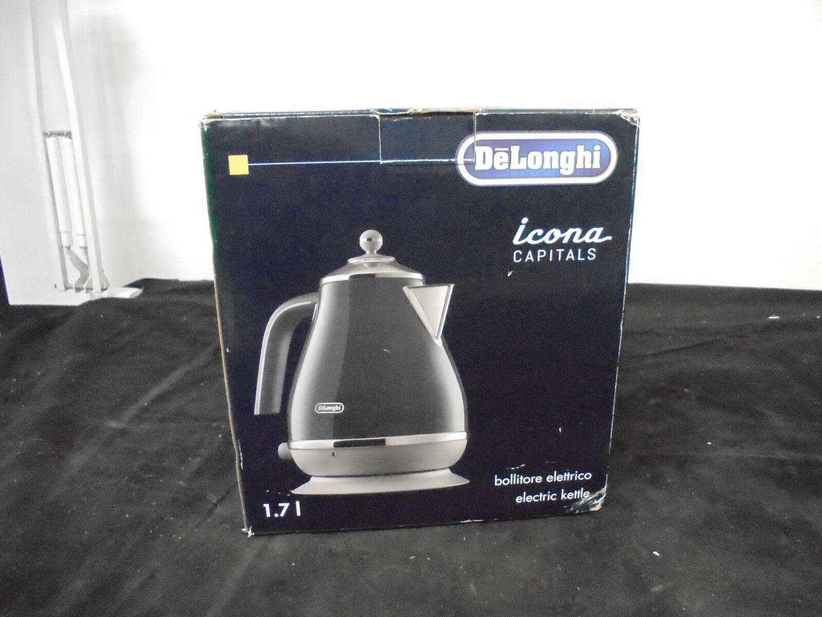 DELONGHI Icona Capitals KBOC3001.BL Jug Kettle Blue