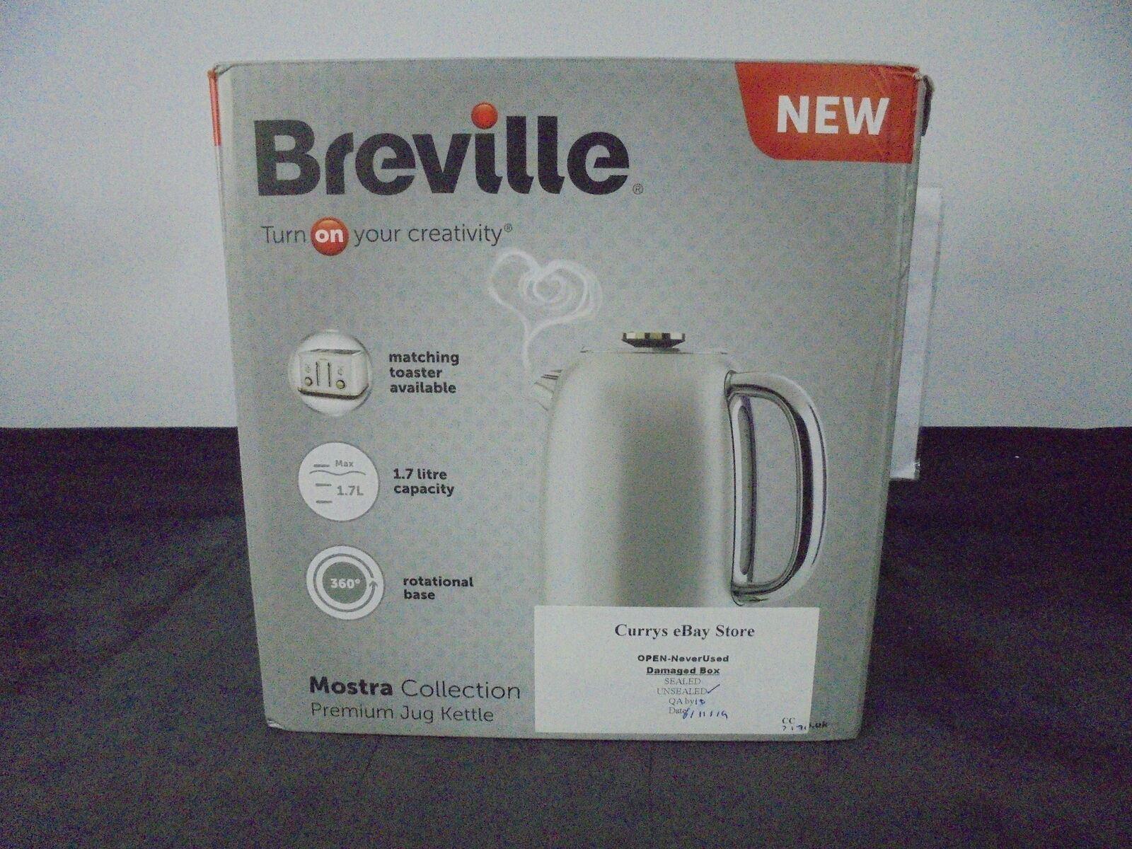 Breville VKT139 Mostra Moonshine Cordless Jug Kettle Silver