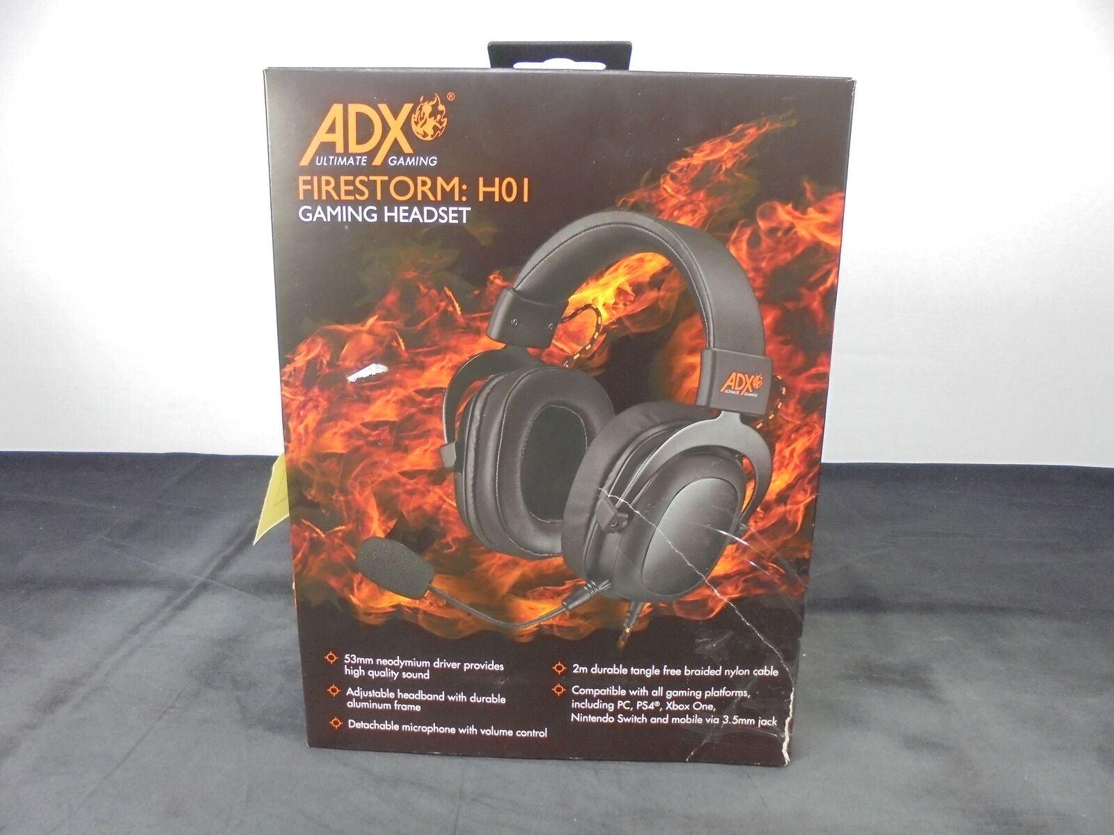 AFX Firestorm H01 Gaming Headset Review