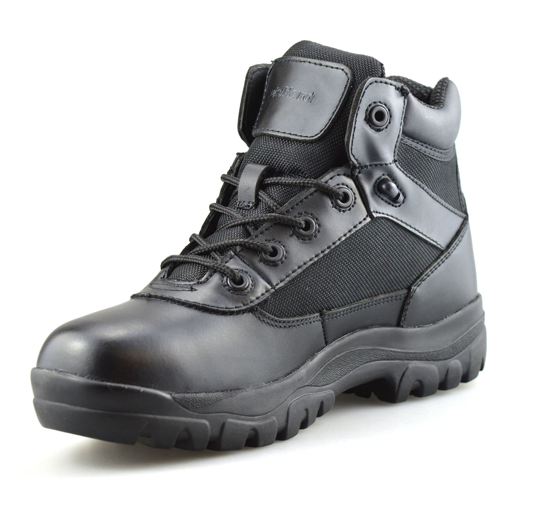 Mens-New-Leather-Military-Army-Combat-Walking-Hiking-Work-Ankle-Boots-Shoes-Size thumbnail 14