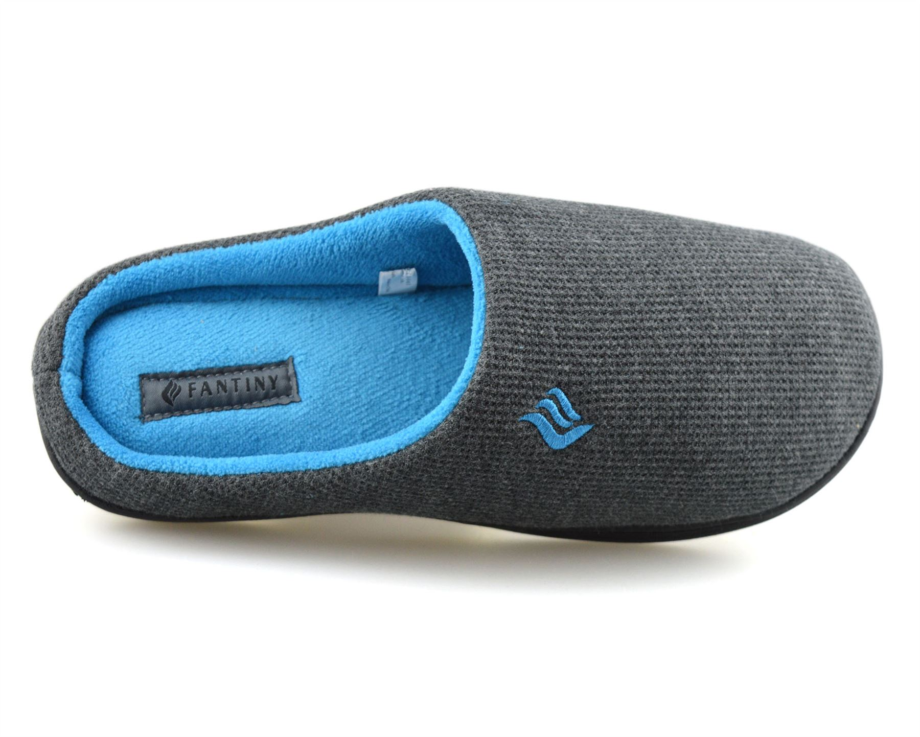 Mens-Memory-Foam-Warm-Fleece-Lined-Cotton-Slippers-Slip-On-Clog-Mules-Shoes-Size thumbnail 23