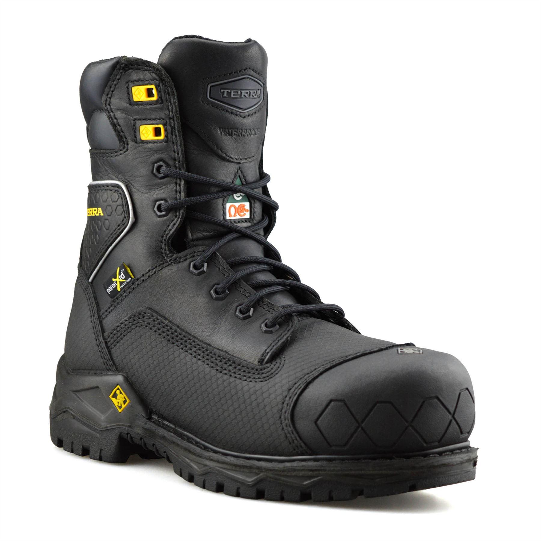 Mens Terra Sawtooth Leather Waterproof