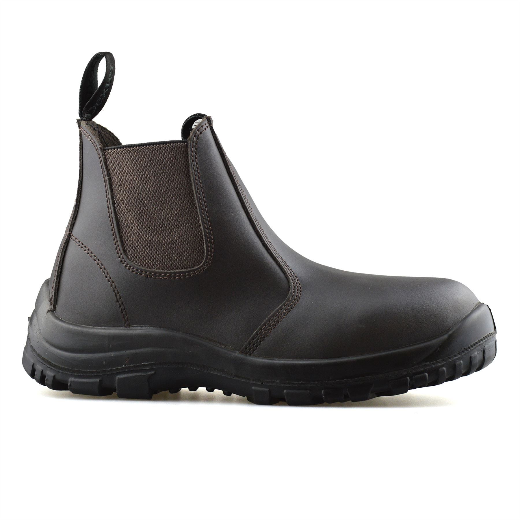 Mens-Leather-Wide-Fit-Chelsea-Ankle-Boots-Casual-Smart-Dealer-Work-Shoes-Size thumbnail 9