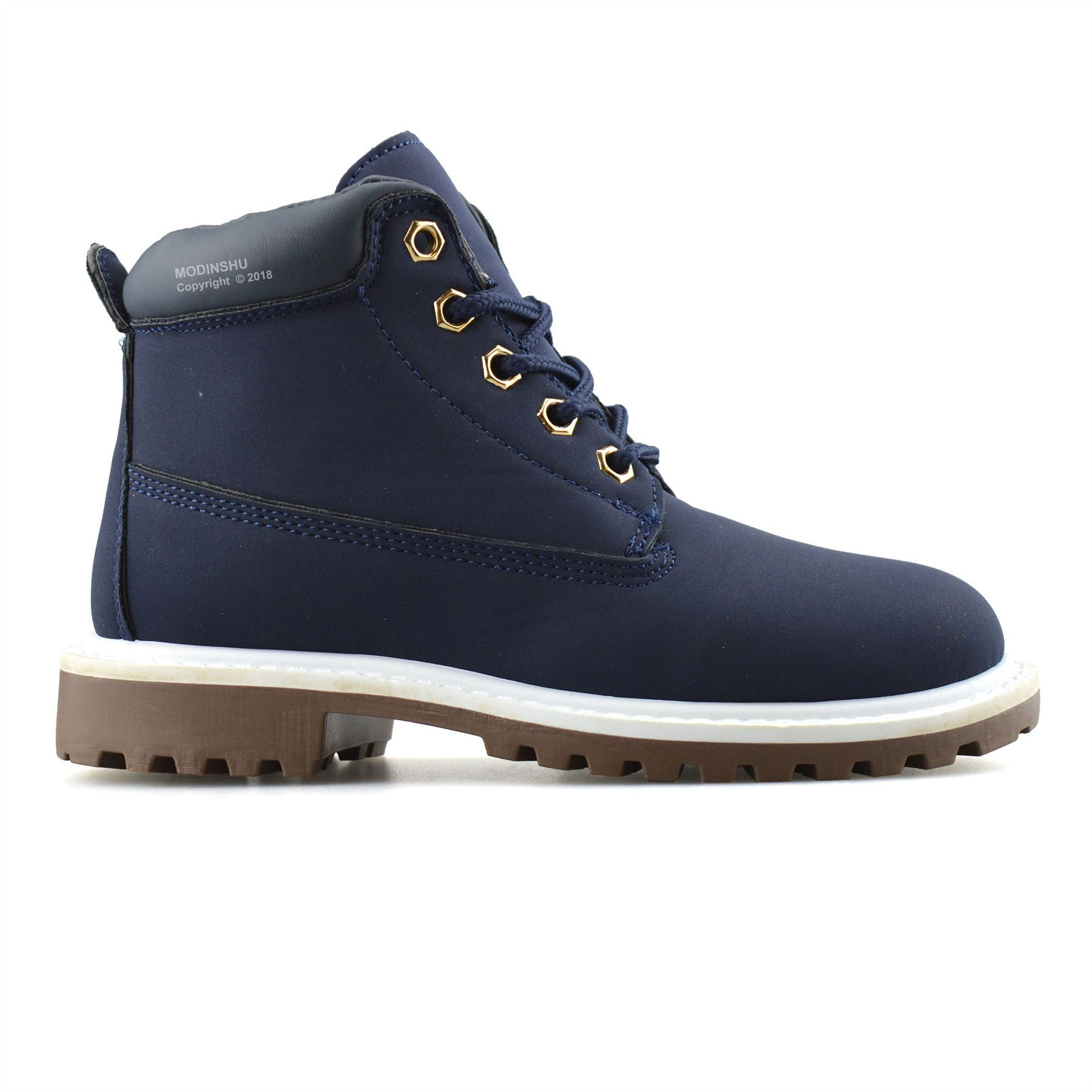 Boys-Kids-New-Casual-Zip-Lace-Up-Winter-Walking-Ankle-Boots-Trainers-Shoes-Size thumbnail 13