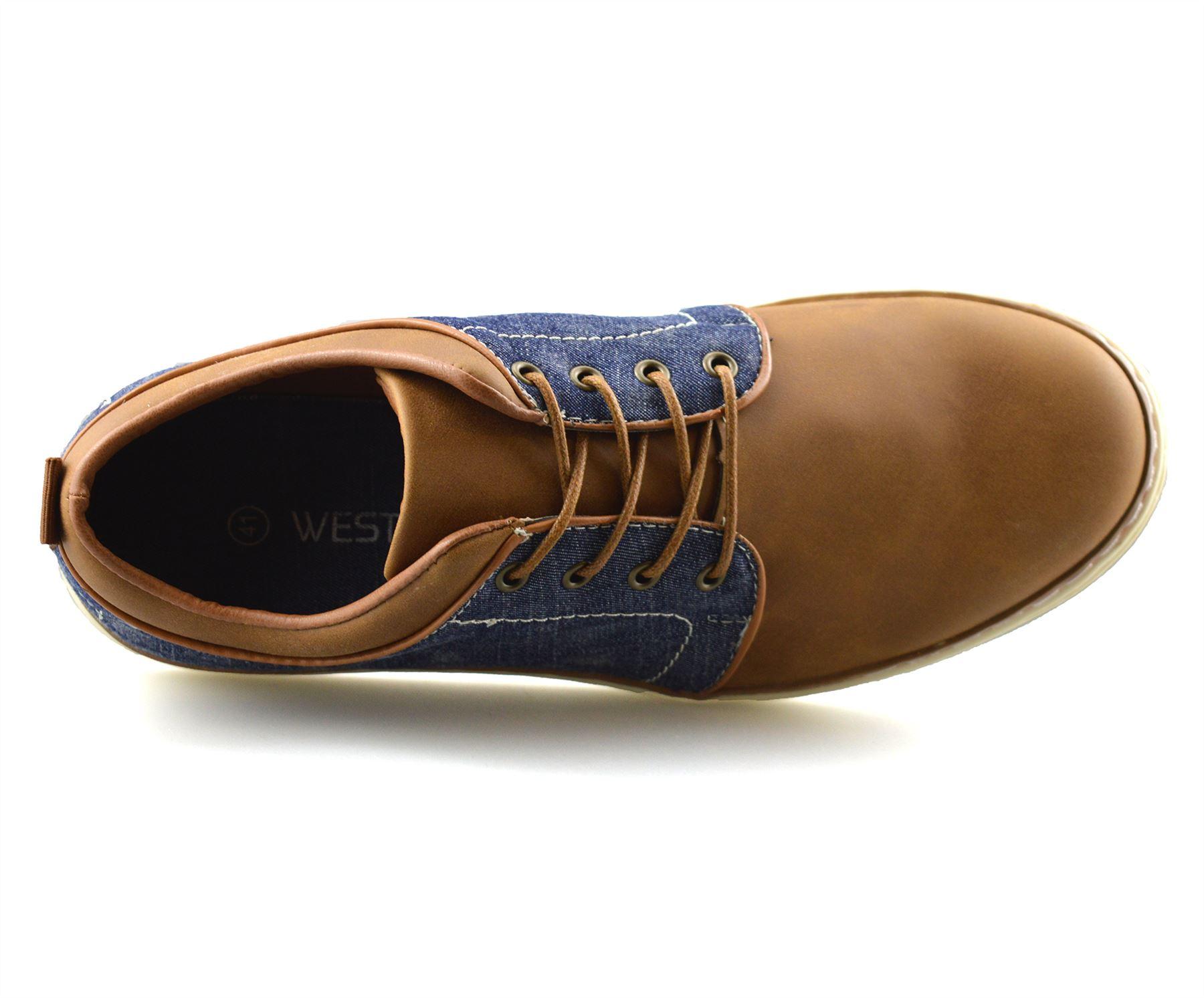 Homme-Nouveau-Casual-Smart-bateau-pont-Mocassin-Walking-Driving-Work-Lace-Up-Chaussures-Taille miniature 22