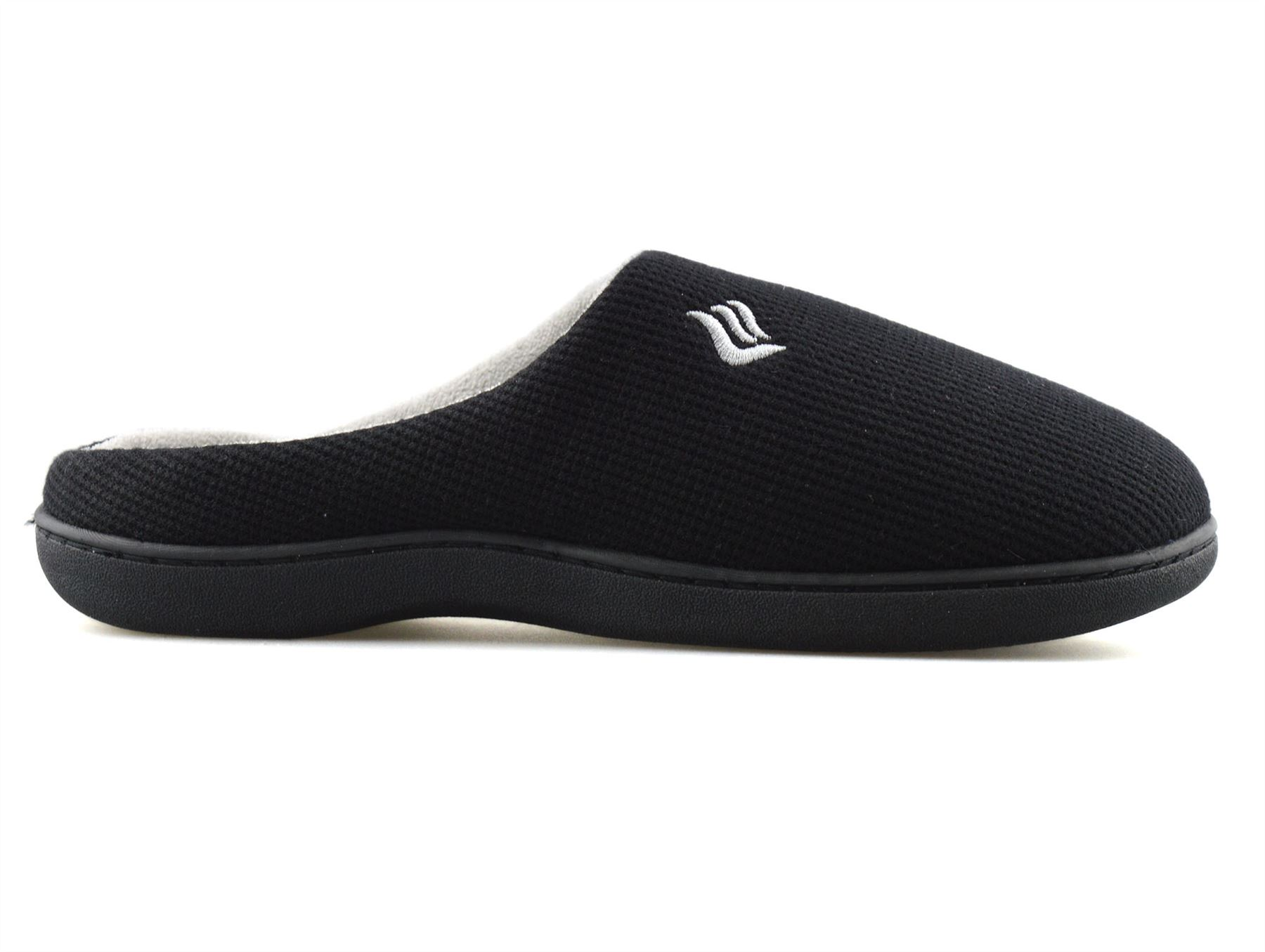 Mens-Memory-Foam-Warm-Fleece-Lined-Cotton-Slippers-Slip-On-Clog-Mules-Shoes-Size thumbnail 13