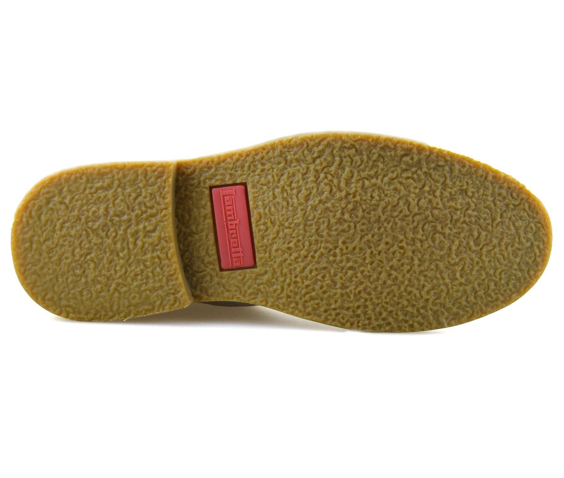 Homme-Lambretta-Cuir-Daim-Decontracte-Chukka-a-Lacets-Desert-Bottes-Chaussures-Taille miniature 10