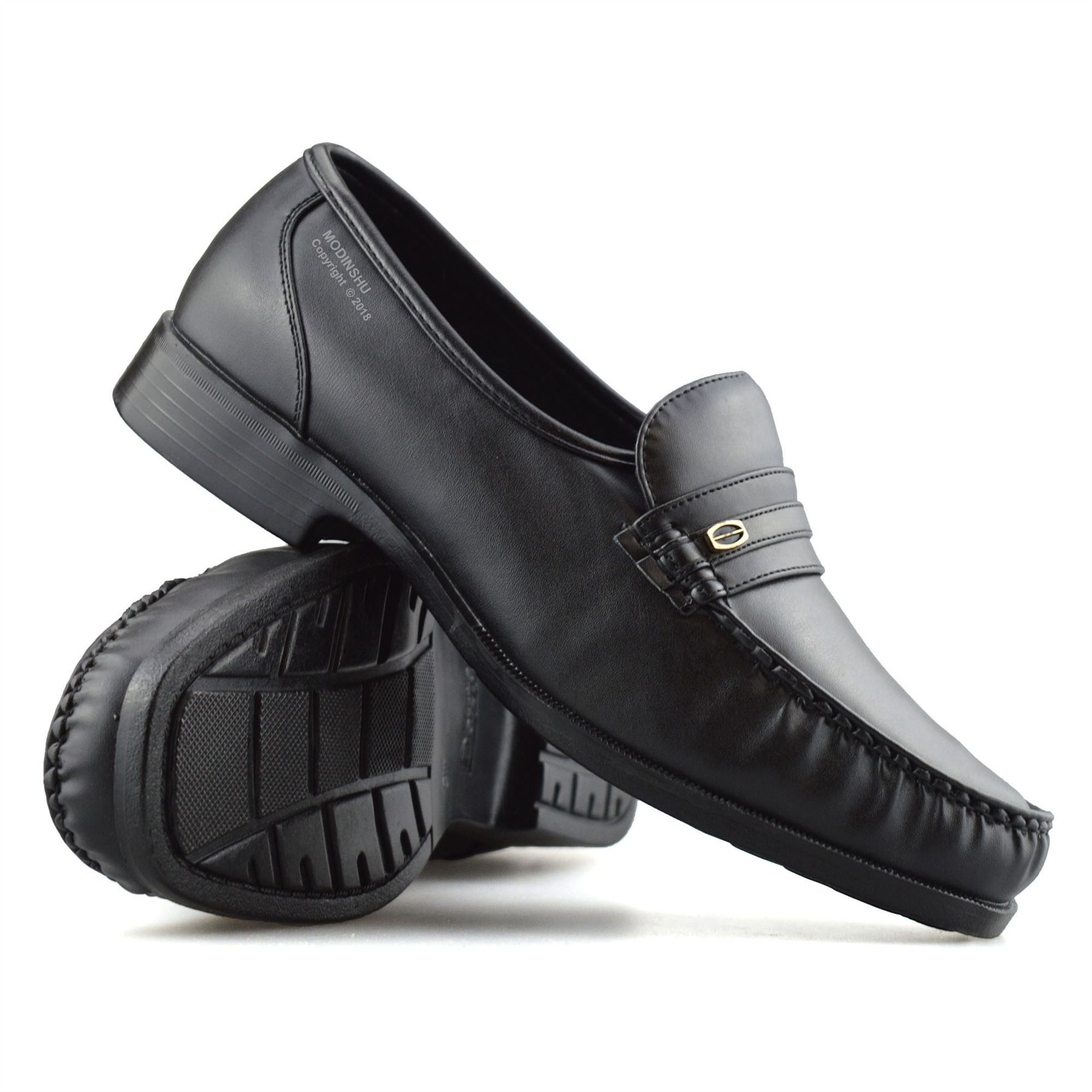 Mens-New-Slip-On-Casual-Smart-Memory-Foam-Mocassin-Designer-Loafers-Shoes-Size thumbnail 17