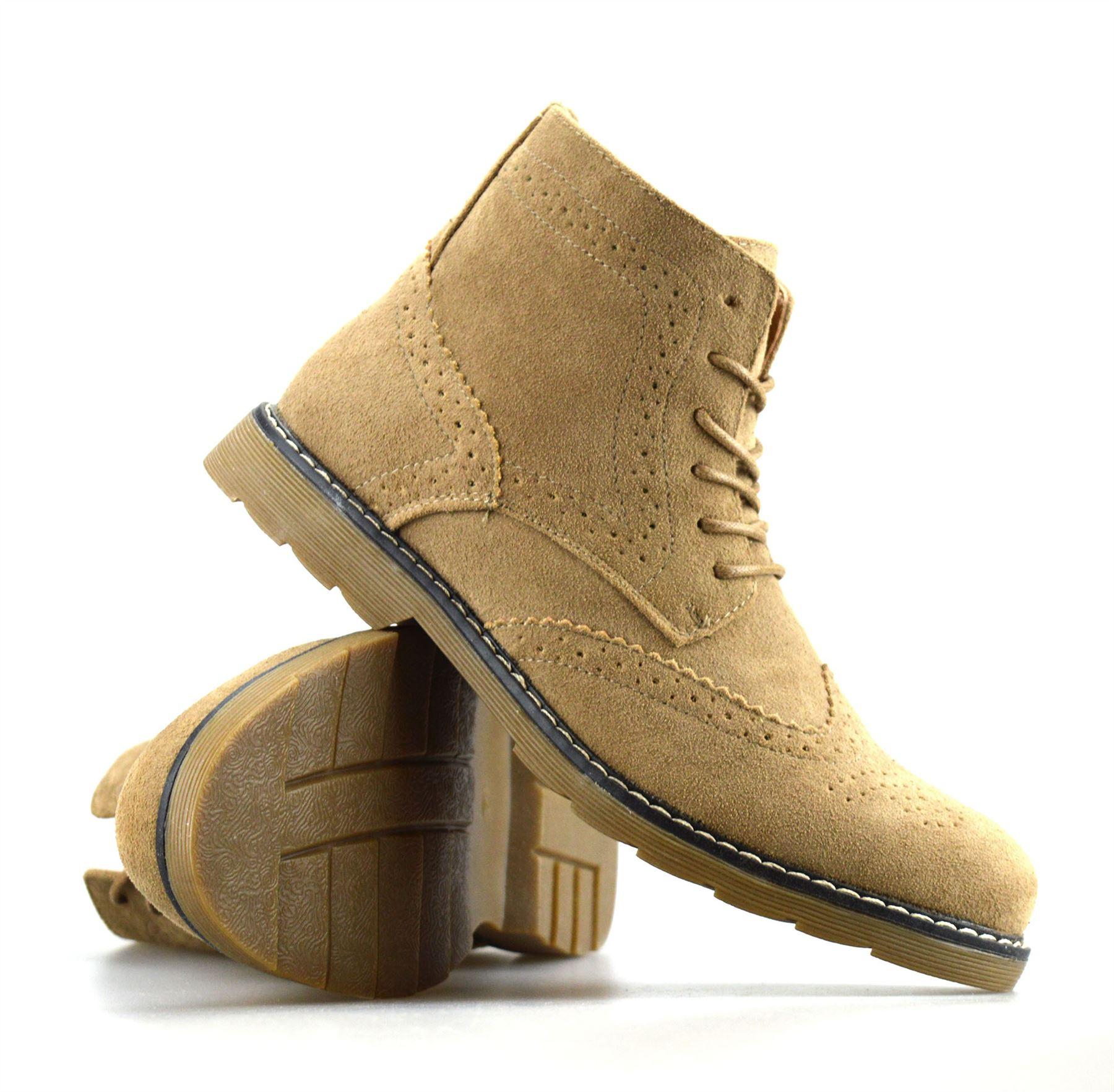 Mens Leather Deserto Shoe