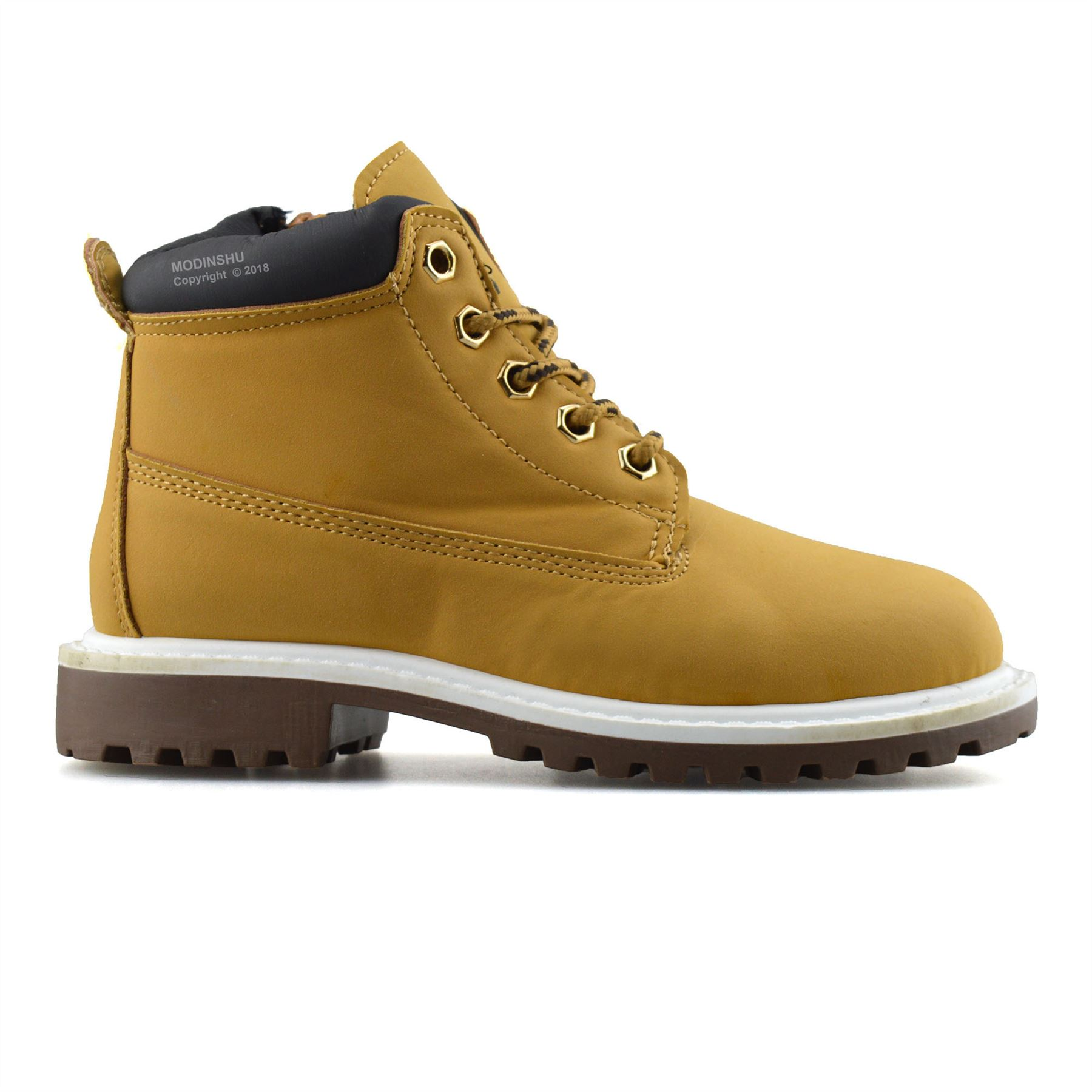 Boys-Kids-New-Casual-Zip-Lace-Up-Winter-Walking-Ankle-Boots-Trainers-Shoes-Size thumbnail 19