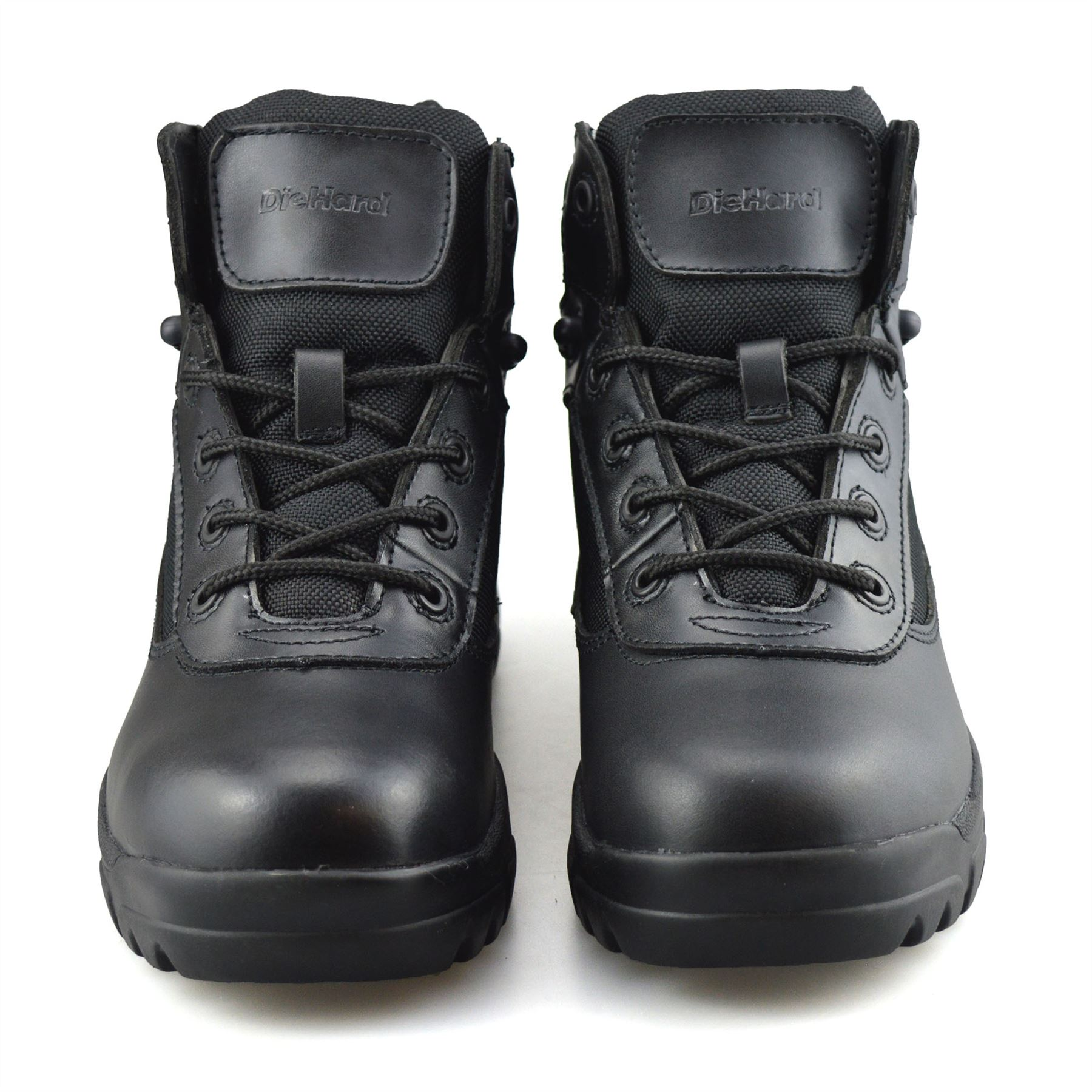 Mens-New-Leather-Military-Army-Combat-Walking-Hiking-Work-Ankle-Boots-Shoes-Size thumbnail 17