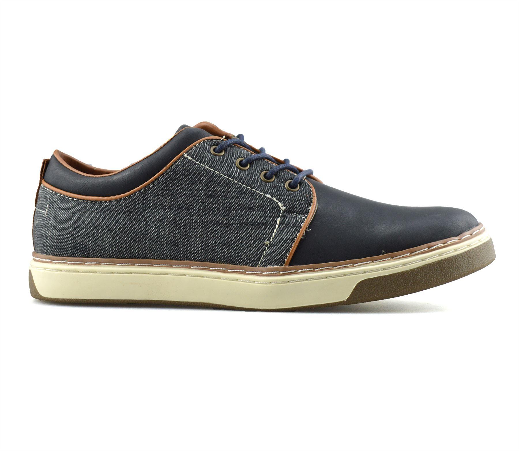 Homme-Nouveau-Casual-Smart-bateau-pont-Mocassin-Walking-Driving-Work-Lace-Up-Chaussures-Taille miniature 13