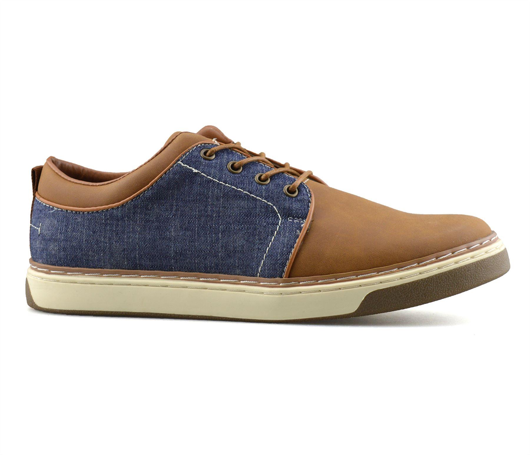 Homme-Nouveau-Casual-Smart-bateau-pont-Mocassin-Walking-Driving-Work-Lace-Up-Chaussures-Taille miniature 19