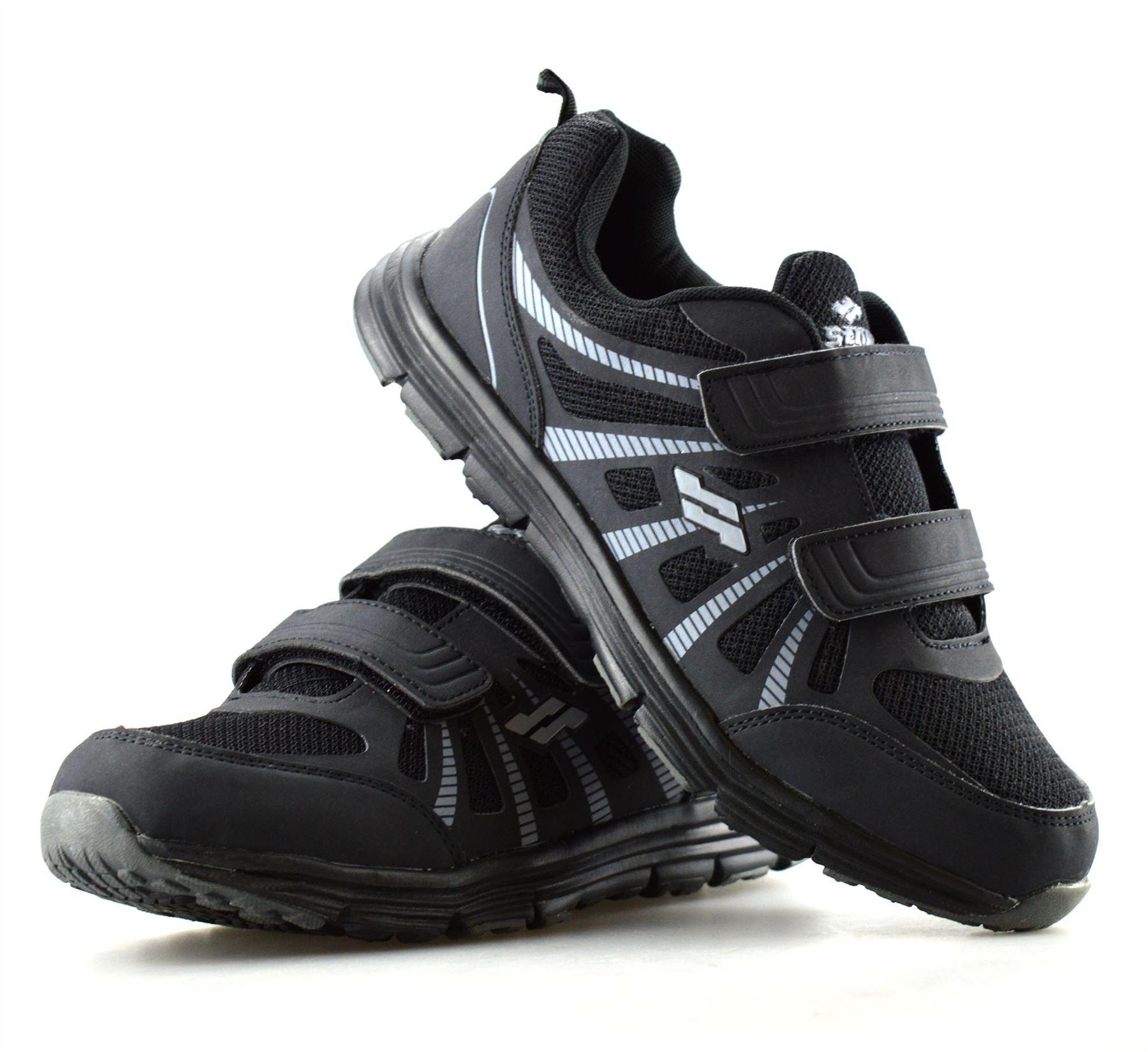 Hombre-Nuevo-Casual-Tactil-Correa-Pasear-Running-Gimnasio-Deportes-Ninos-Zapatillas-Zapatos-Talla miniatura 16
