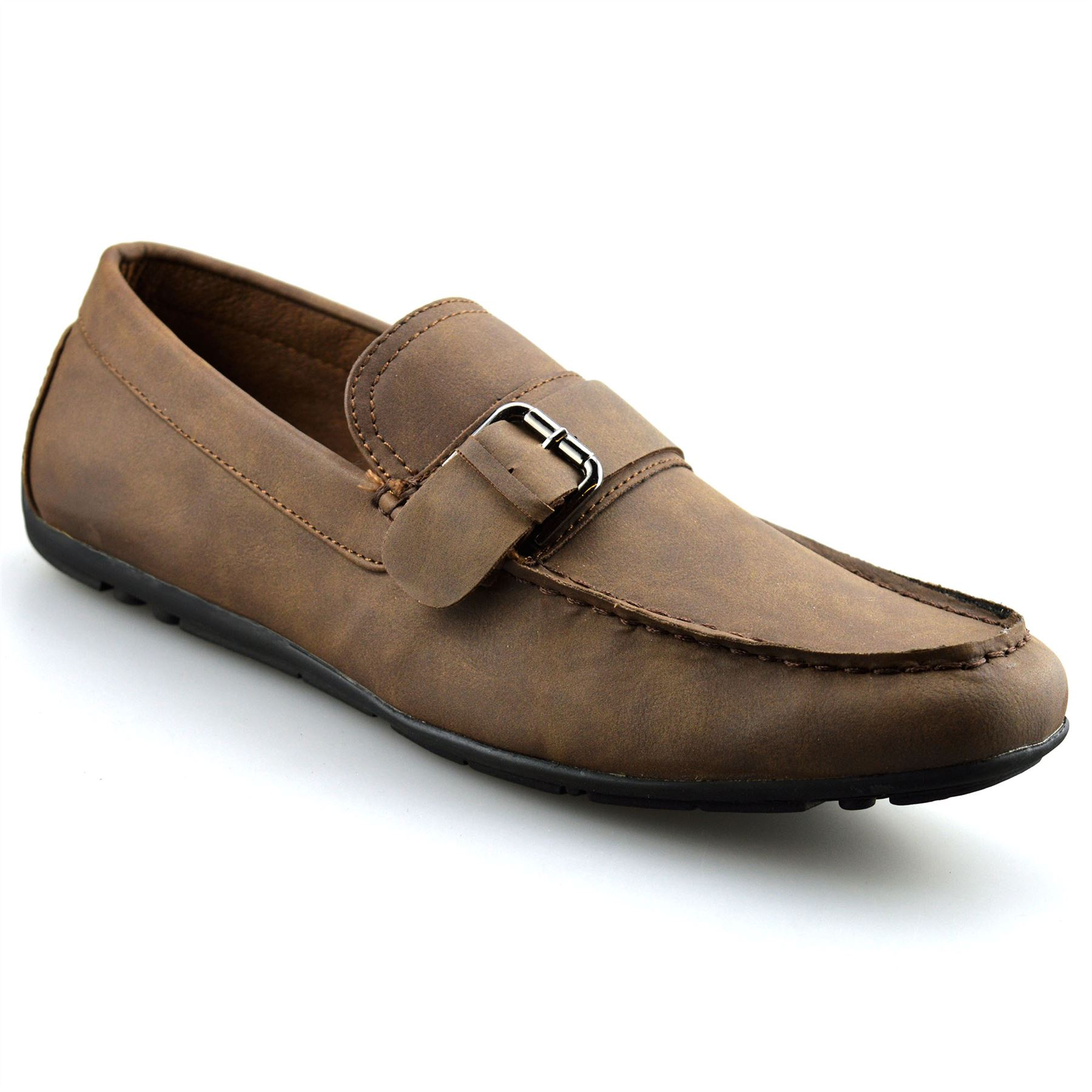 Mens-New-Slip-On-Boat-Deck-Casual-Mocassin-Designer-Loafers-Driving-Shoes-Size thumbnail 12