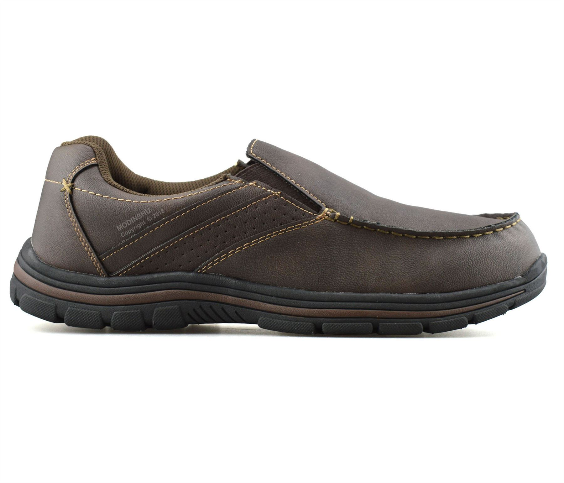 Mens-Casual-Memory-Foam-Slip-On-Walking-Moccasin-Loafers-Driving-Boat-Shoes-Size thumbnail 19
