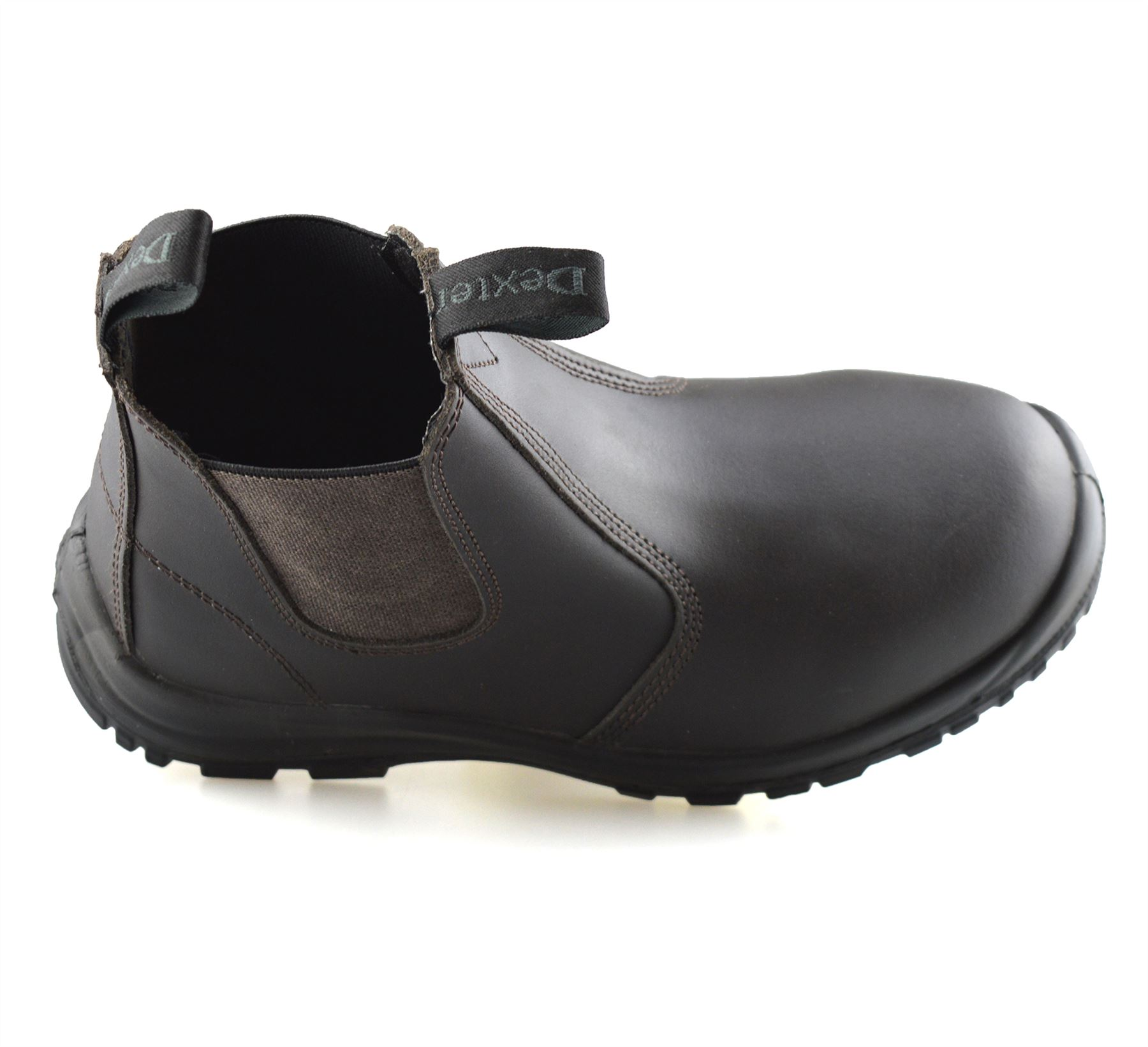 Mens-Leather-Wide-Fit-Chelsea-Ankle-Boots-Casual-Smart-Dealer-Work-Shoes-Size thumbnail 14