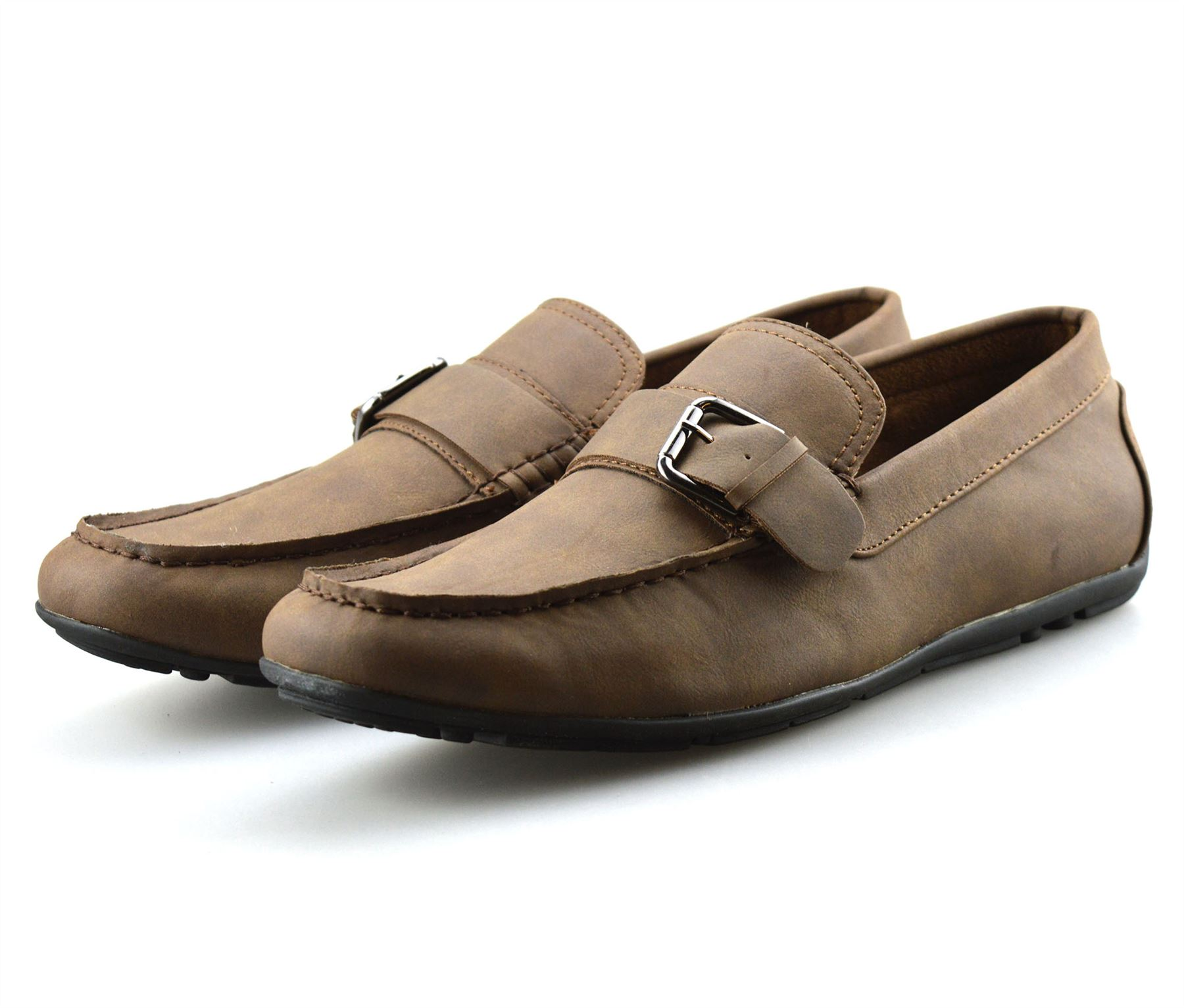 Mens-New-Slip-On-Boat-Deck-Casual-Mocassin-Designer-Loafers-Driving-Shoes-Size thumbnail 18