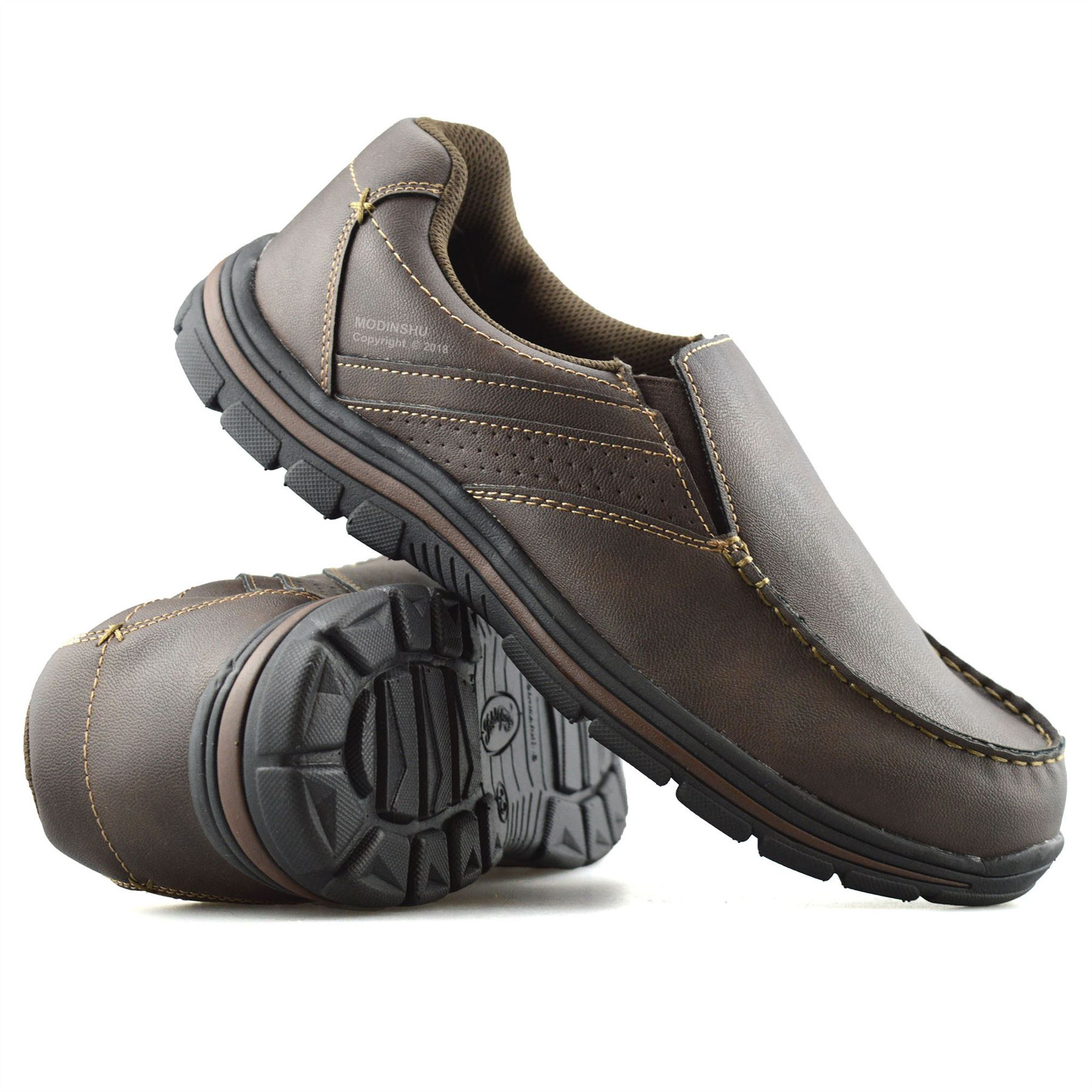 Mens-Casual-Memory-Foam-Slip-On-Walking-Moccasin-Loafers-Driving-Boat-Shoes-Size thumbnail 23