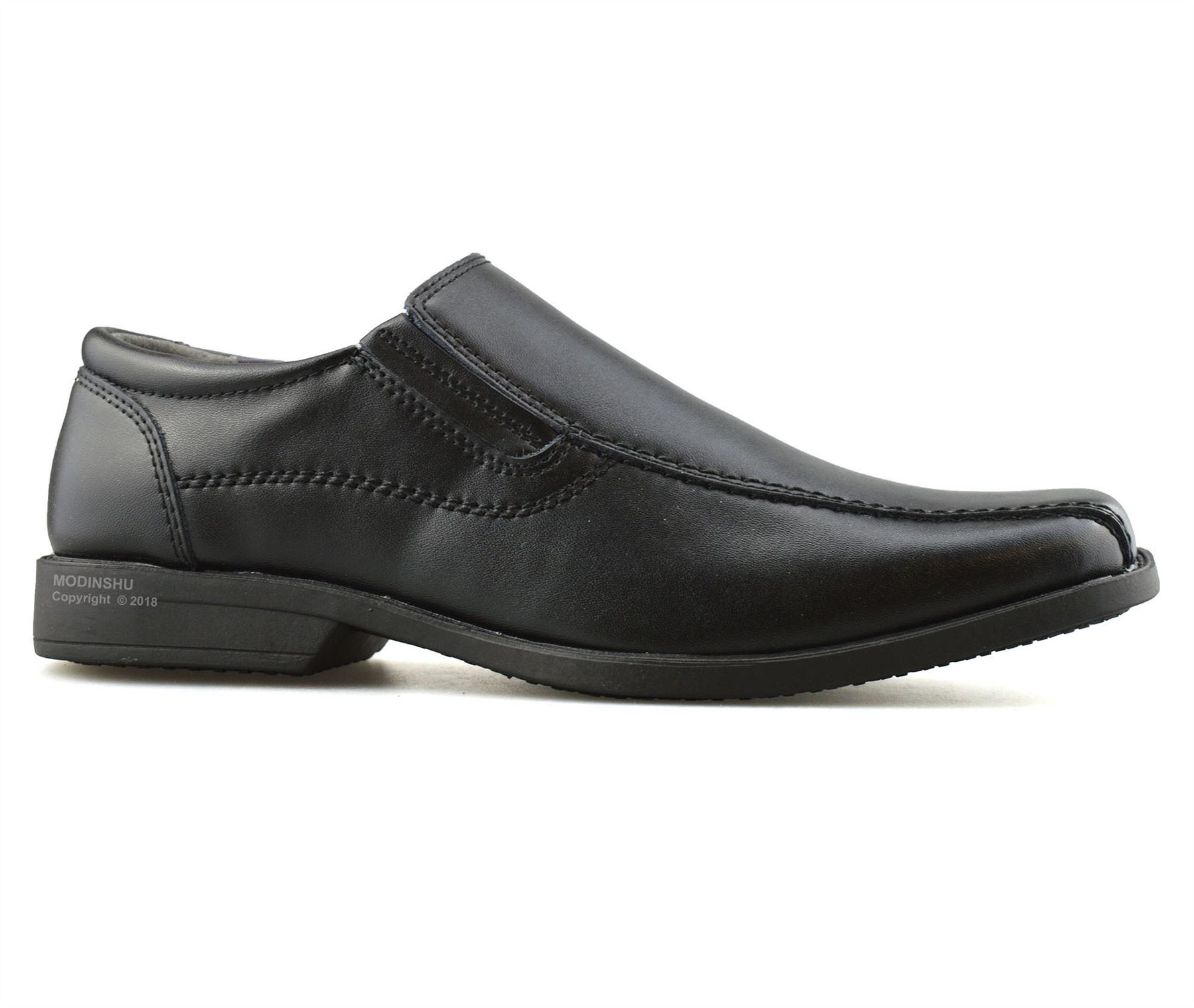 Mens-Leather-Slip-On-Casual-Smart-Office-Walking-Moccasin-Work-Loafers-Shoe-Size thumbnail 9