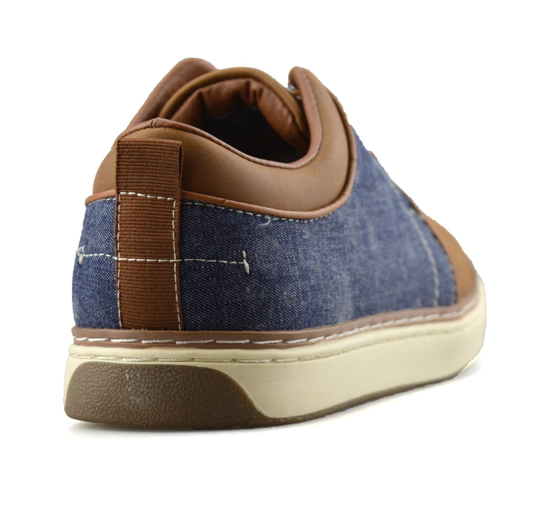 Homme-Nouveau-Casual-Smart-bateau-pont-Mocassin-Walking-Driving-Work-Lace-Up-Chaussures-Taille miniature 20