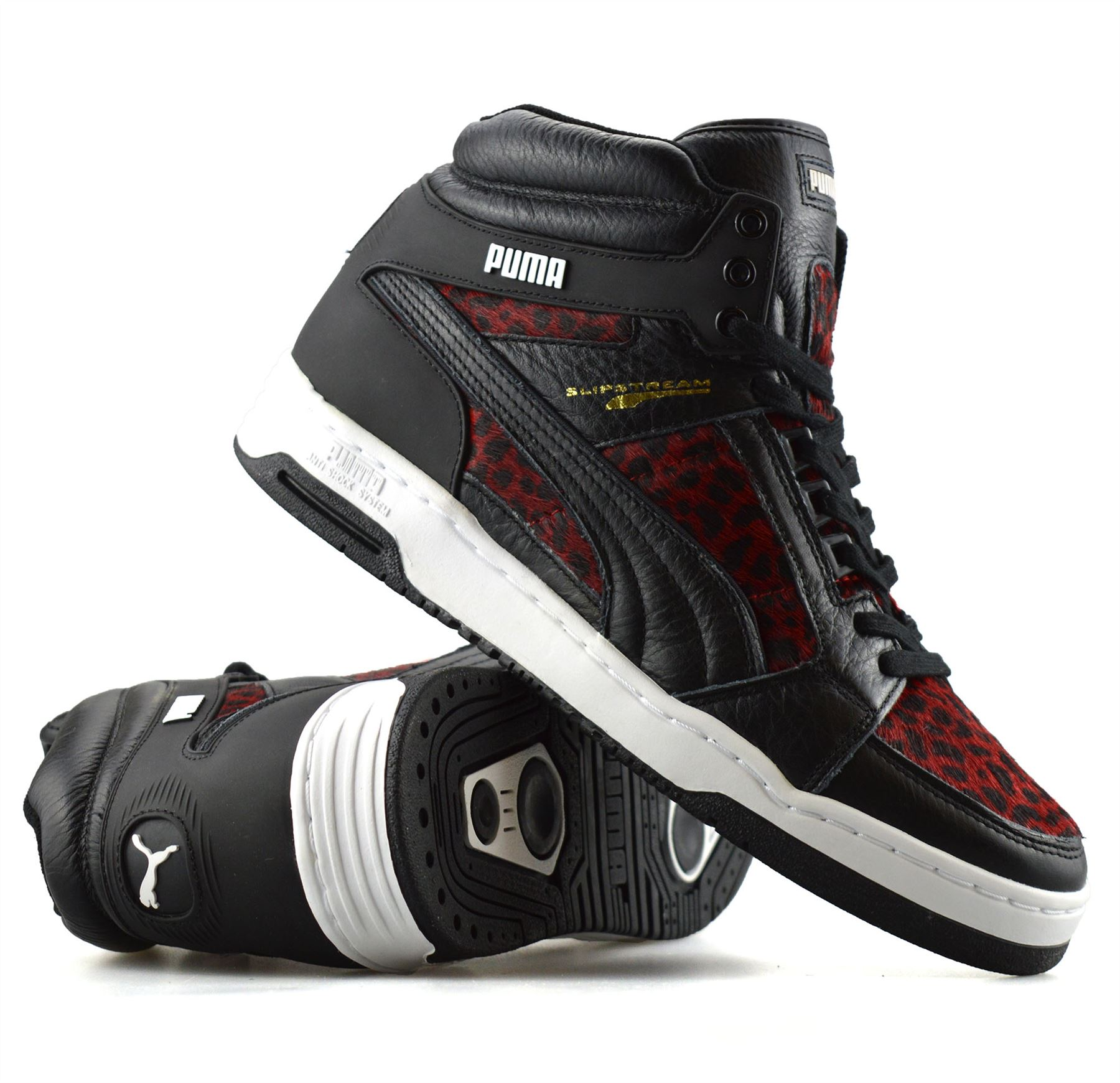 Boots Trainers Puma Slipstream Basketball Leather Tops Hi Mens Ankle f8ZPqw
