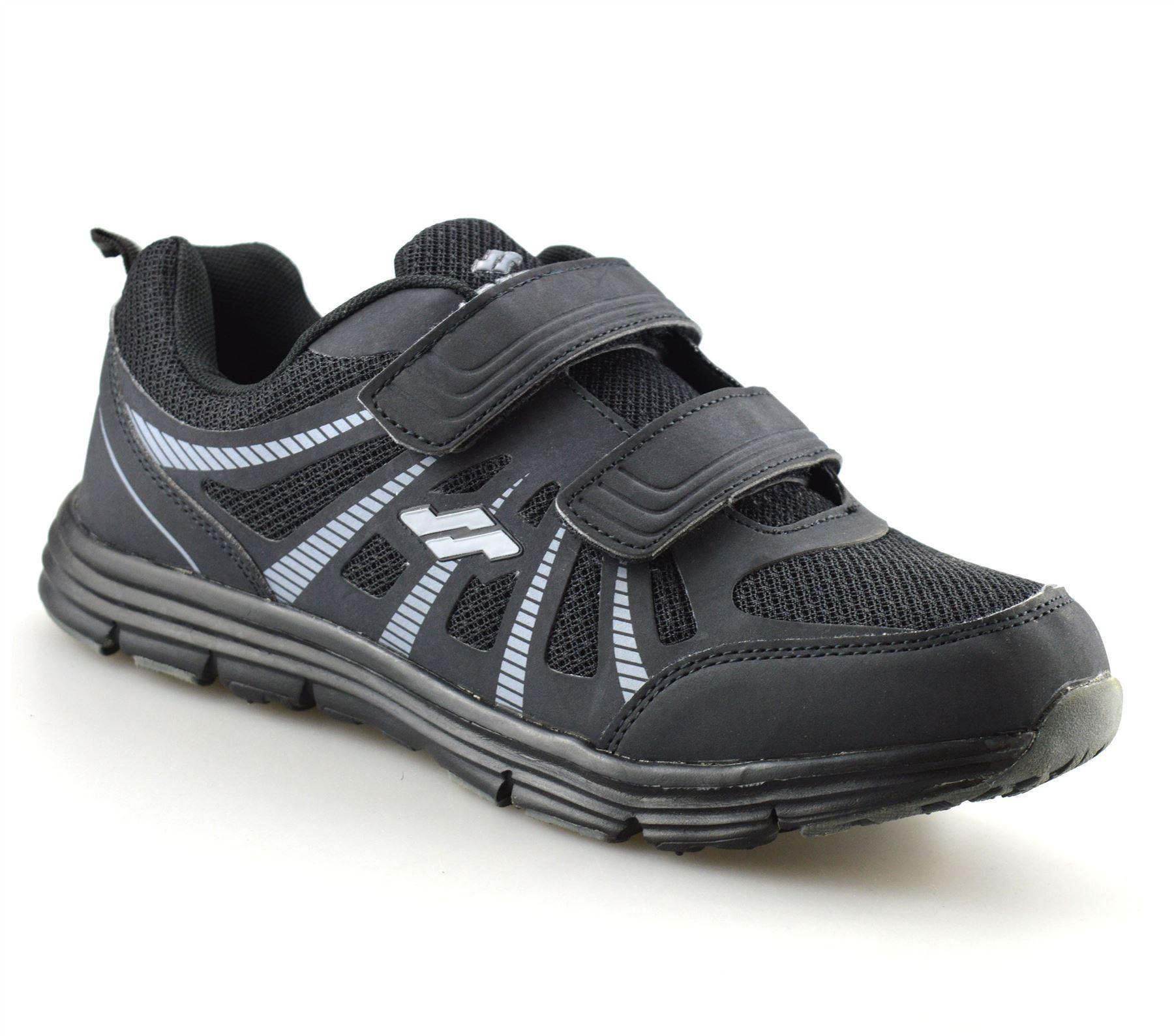 Hombre-Nuevo-Casual-Tactil-Correa-Pasear-Running-Gimnasio-Deportes-Ninos-Zapatillas-Zapatos-Talla miniatura 10