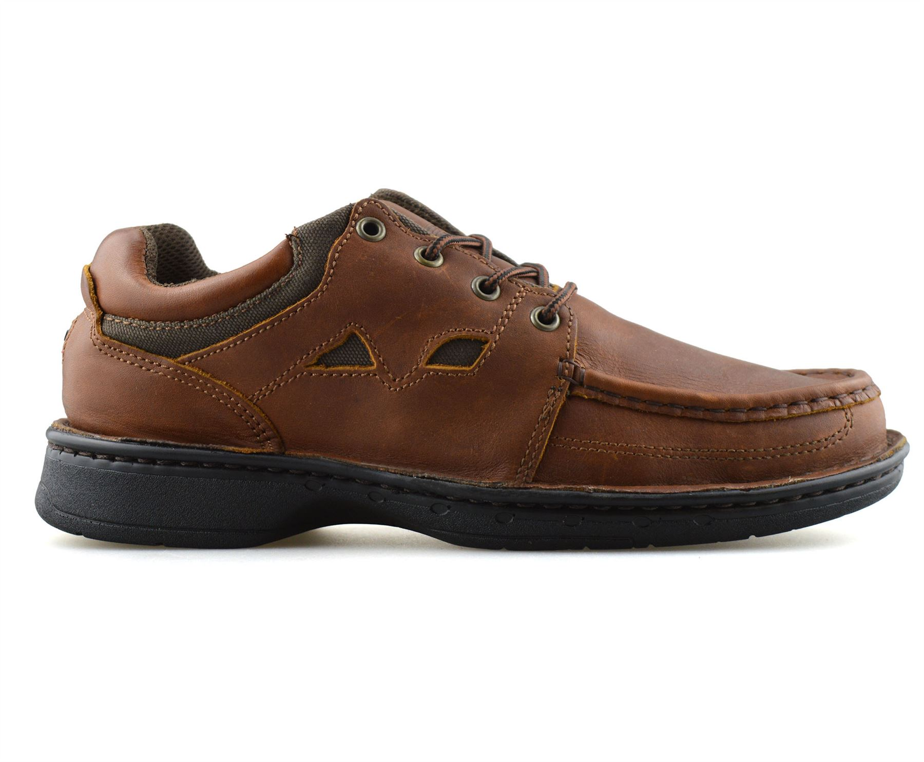 Mens-Leather-Casual-Smart-Lace-Up-Walking-Work-Moccasin-Driving-Boat-Shoes-Size thumbnail 9