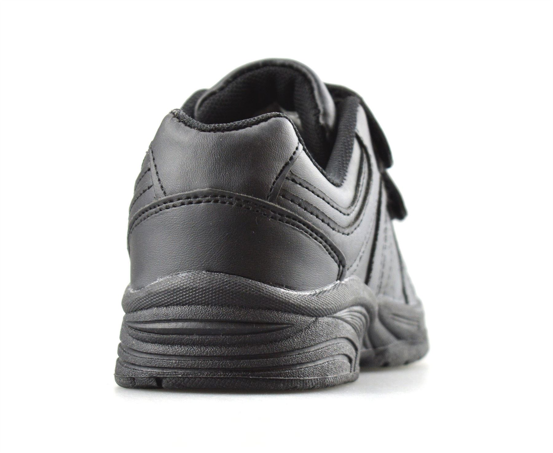 Boys-Kids-New-Formal-Smart-Casual-Touch-Strap-Back-To-School-Trainers-Shoes-Size thumbnail 10