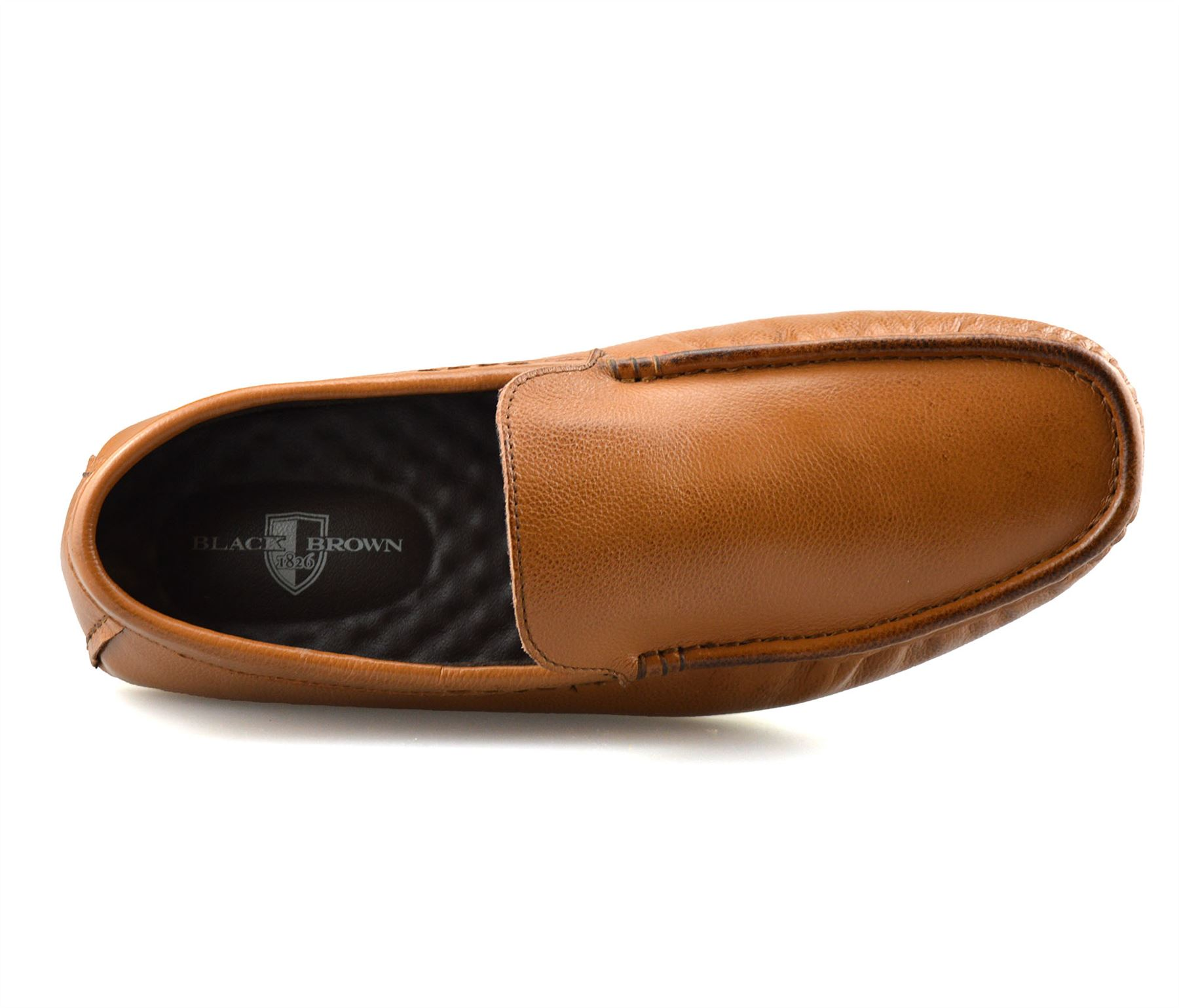 Homme-en-Cuir-Slip-On-Casual-Smart-Mocassins-Mocassin-Homme-Conduite-Chaussures-Taille miniature 14