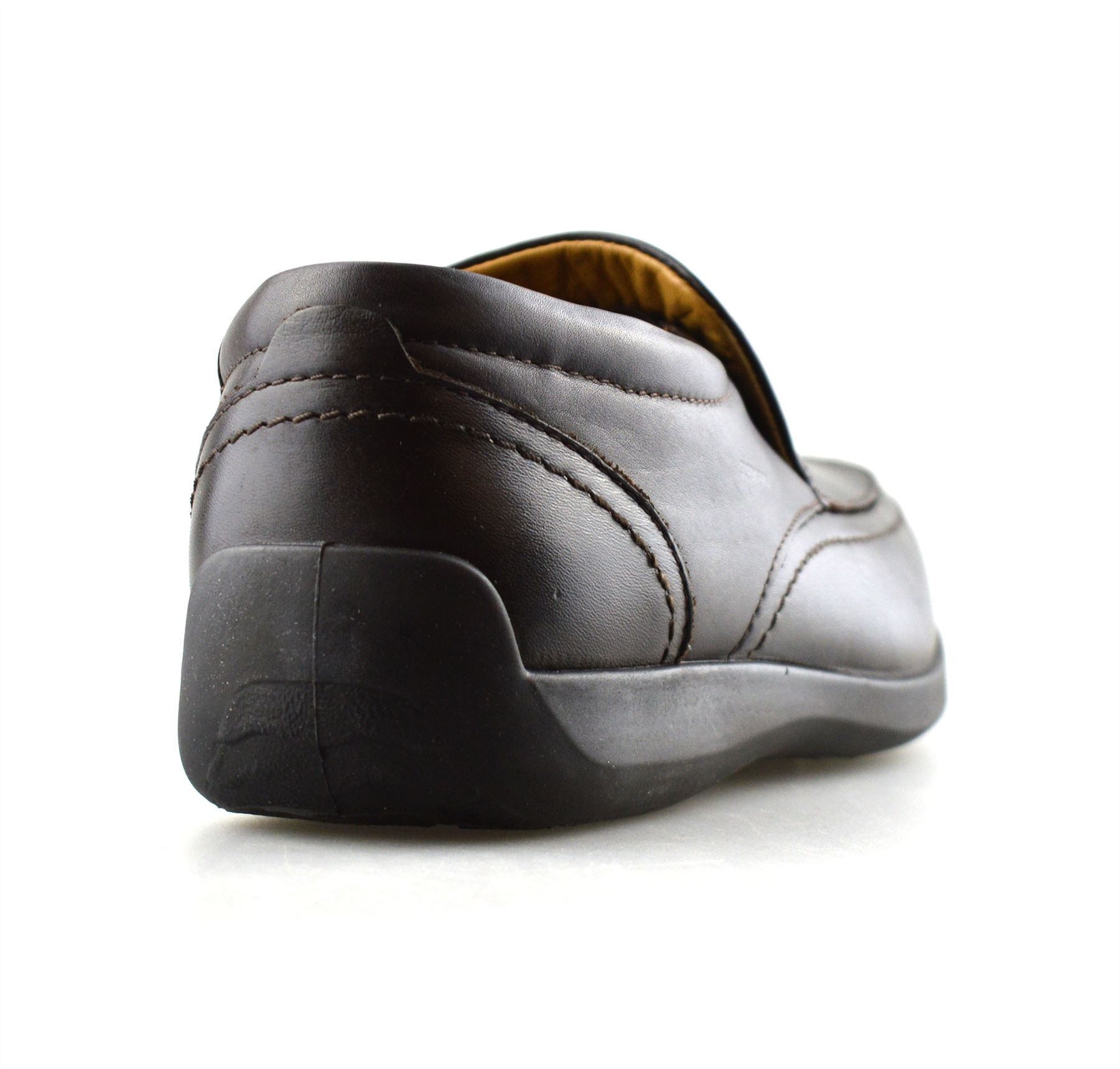Mens-New-Leather-Casual-Slip-On-Walking-Loafers-Moccasin-Driving-Boat-Shoes-Size thumbnail 9