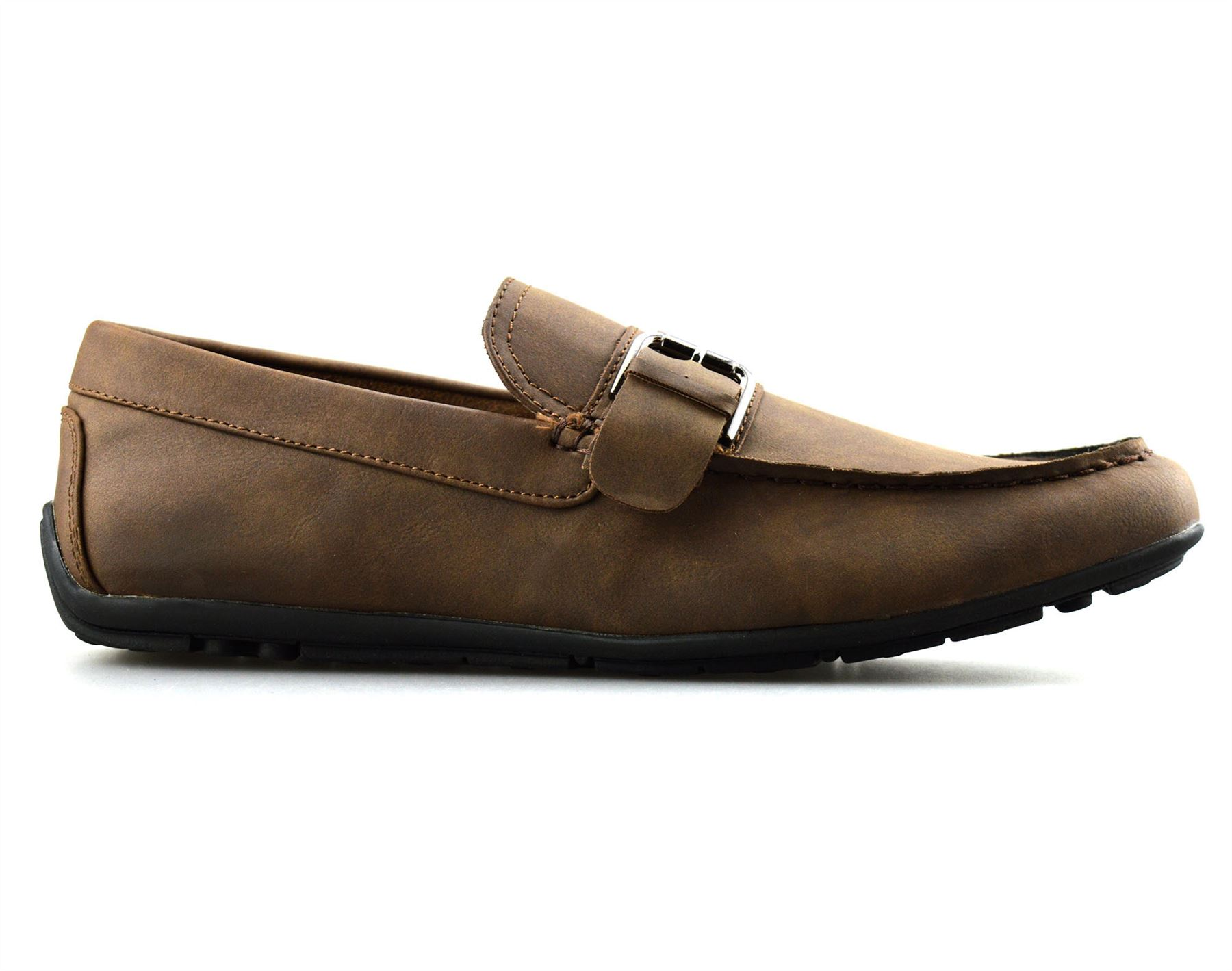 Mens-New-Slip-On-Boat-Deck-Casual-Mocassin-Designer-Loafers-Driving-Shoes-Size thumbnail 13