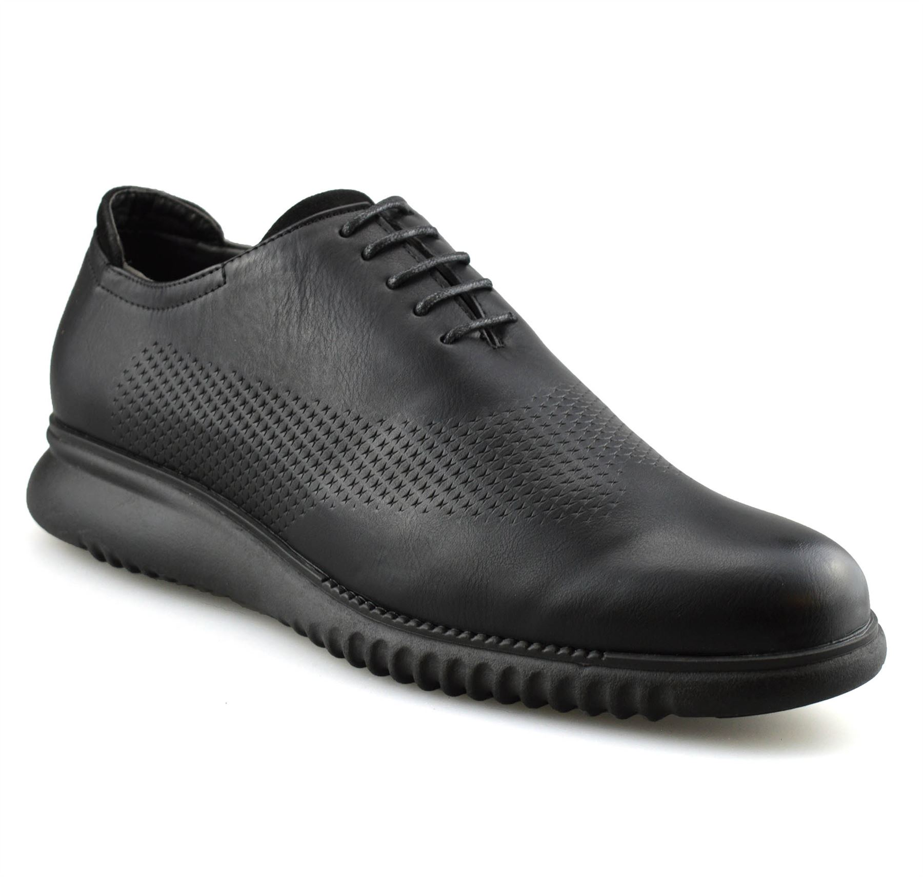 Mens-Casual-Smart-Lace-Up-Oxford-Brogue-Walking-Work-Office-Trainers-Shoes-Size thumbnail 13