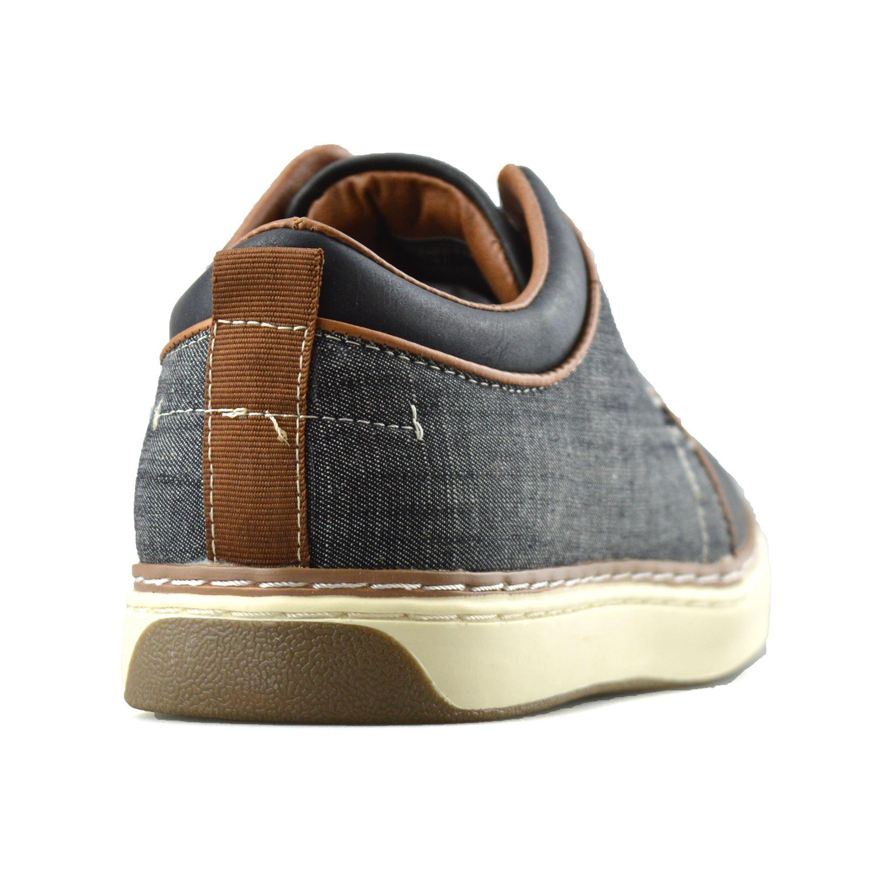 Homme-Nouveau-Casual-Smart-bateau-pont-Mocassin-Walking-Driving-Work-Lace-Up-Chaussures-Taille miniature 14