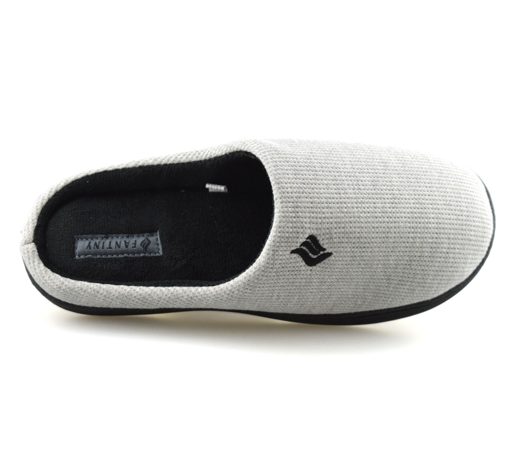 Mens-Memory-Foam-Warm-Fleece-Lined-Cotton-Slippers-Slip-On-Clog-Mules-Shoes-Size thumbnail 31