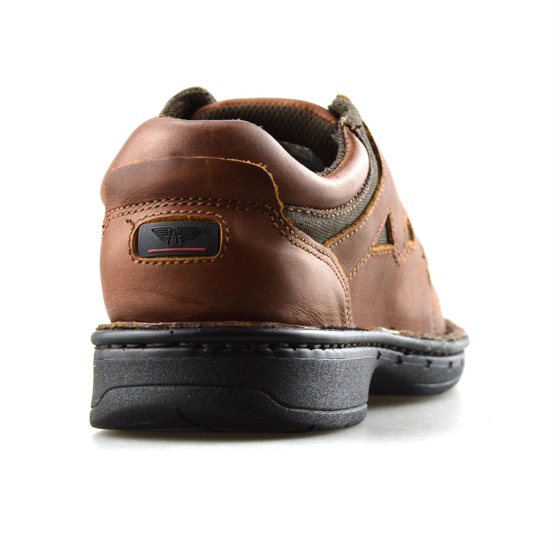 Mens-Leather-Casual-Smart-Lace-Up-Walking-Work-Moccasin-Driving-Boat-Shoes-Size thumbnail 10
